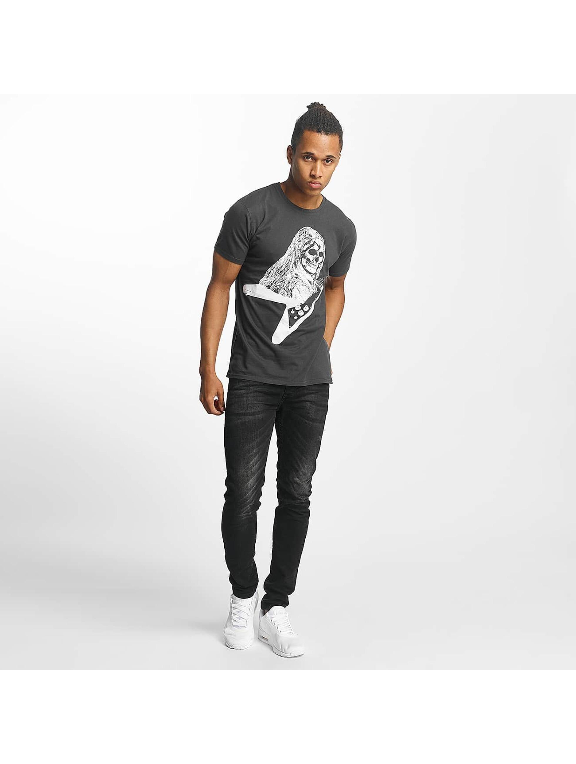 Paris Premium T-paidat Rockin' Skull musta