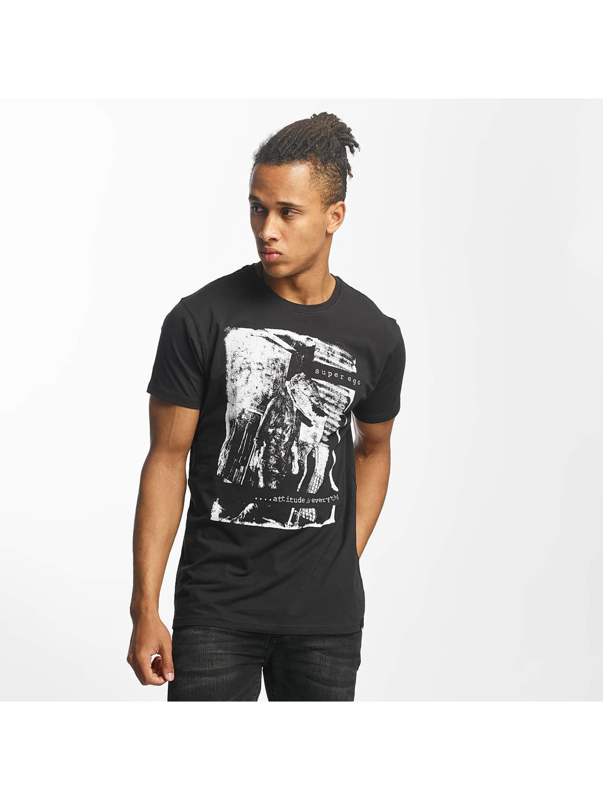 Paris Premium T-Shirt Attitude is everything black