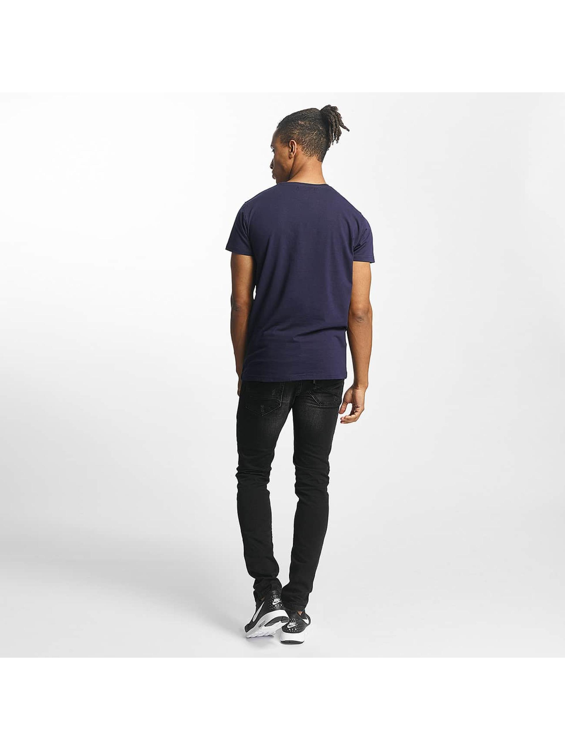 Paris Premium T-Shirt Fuel & Gas blau
