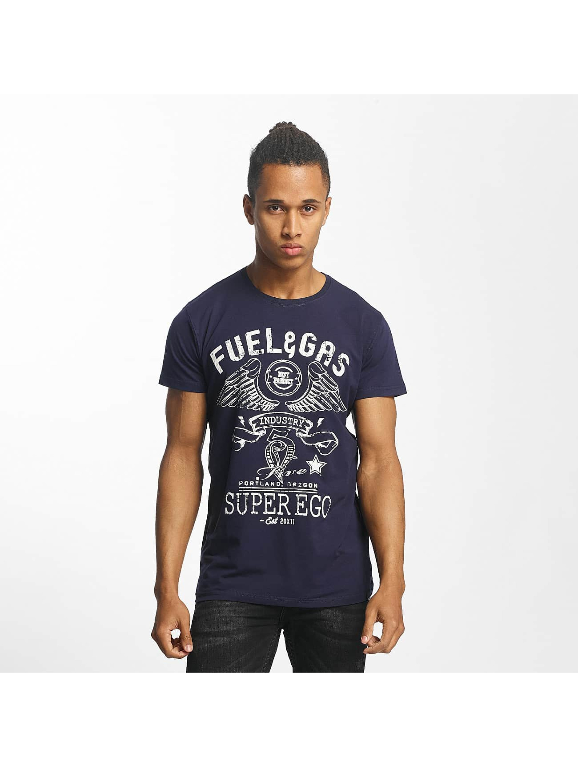 Paris Premium t-shirt Fuel & Gas blauw