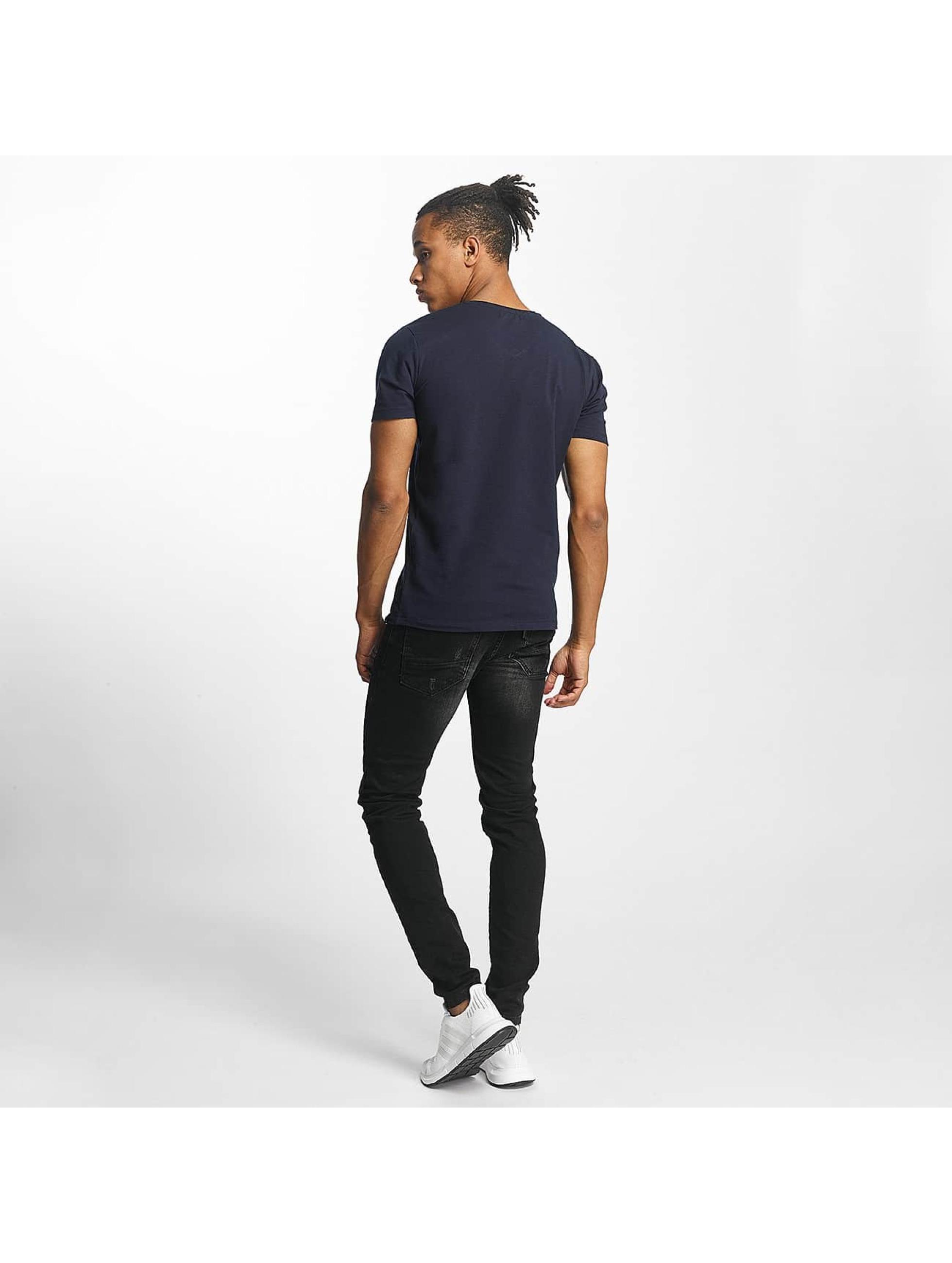 Paris Premium t-shirt Basic blauw