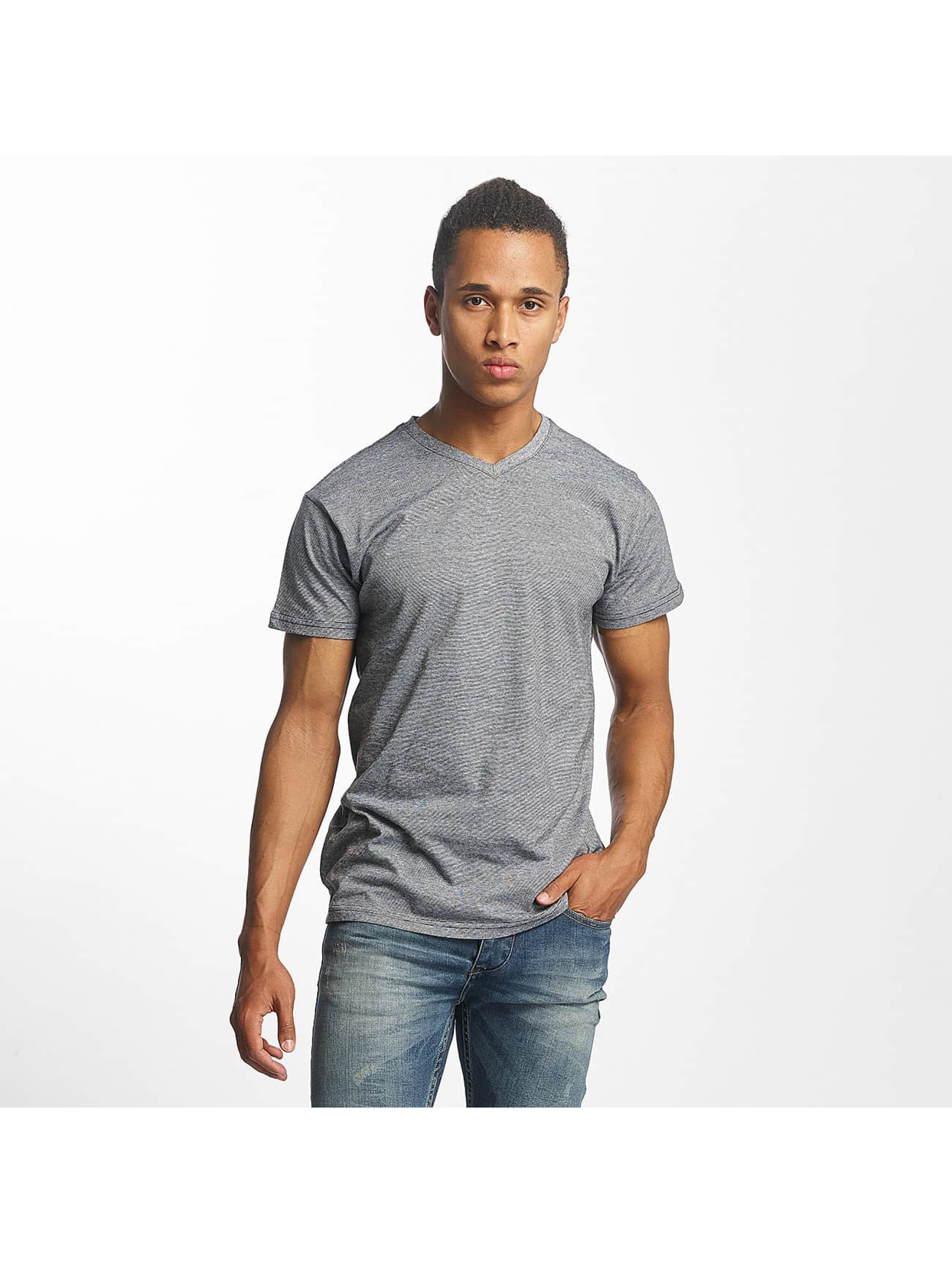 Paris Premium T-Shirt Stripe grau