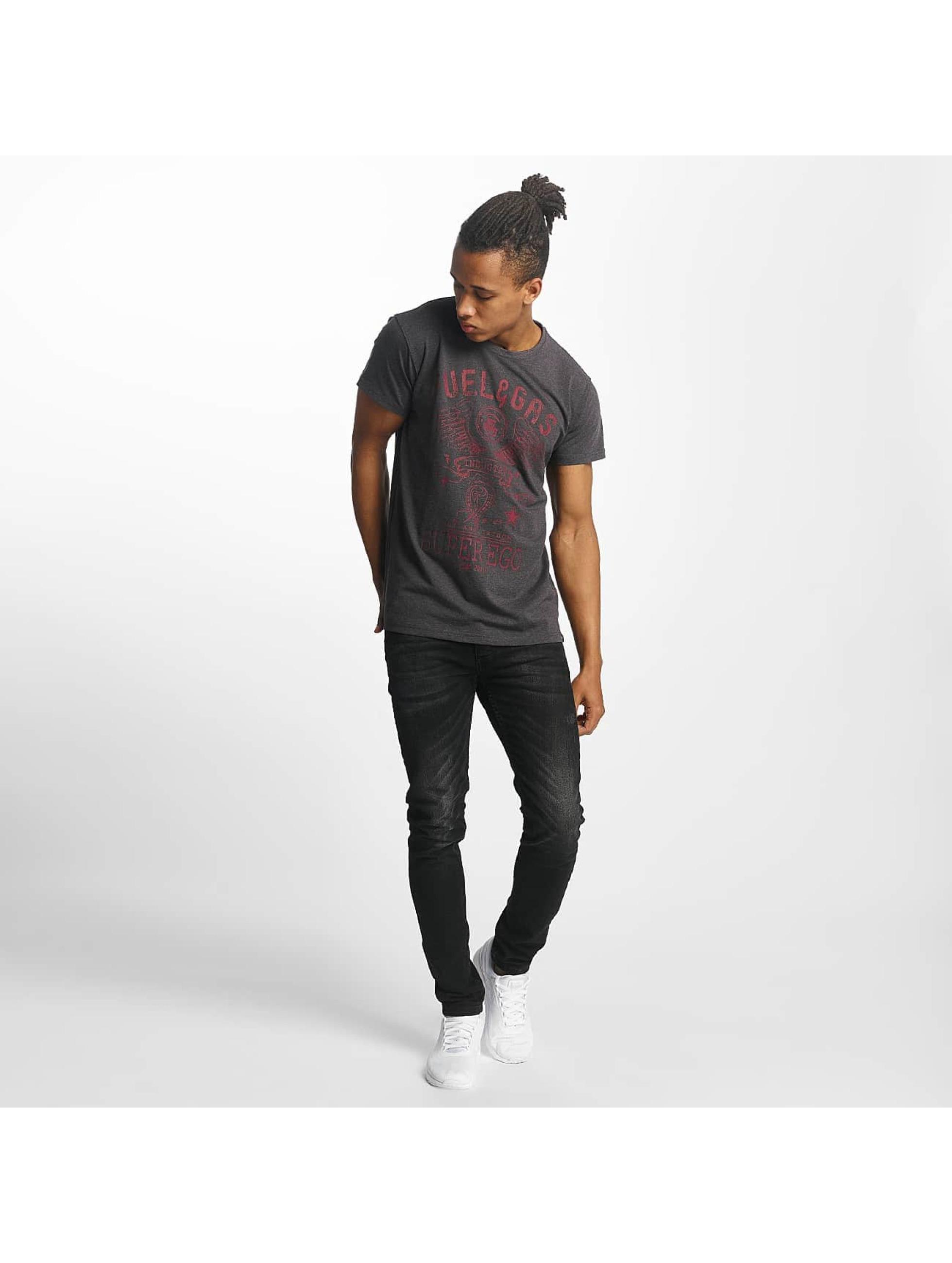 Paris Premium T-Shirt Fuel & Gas grey