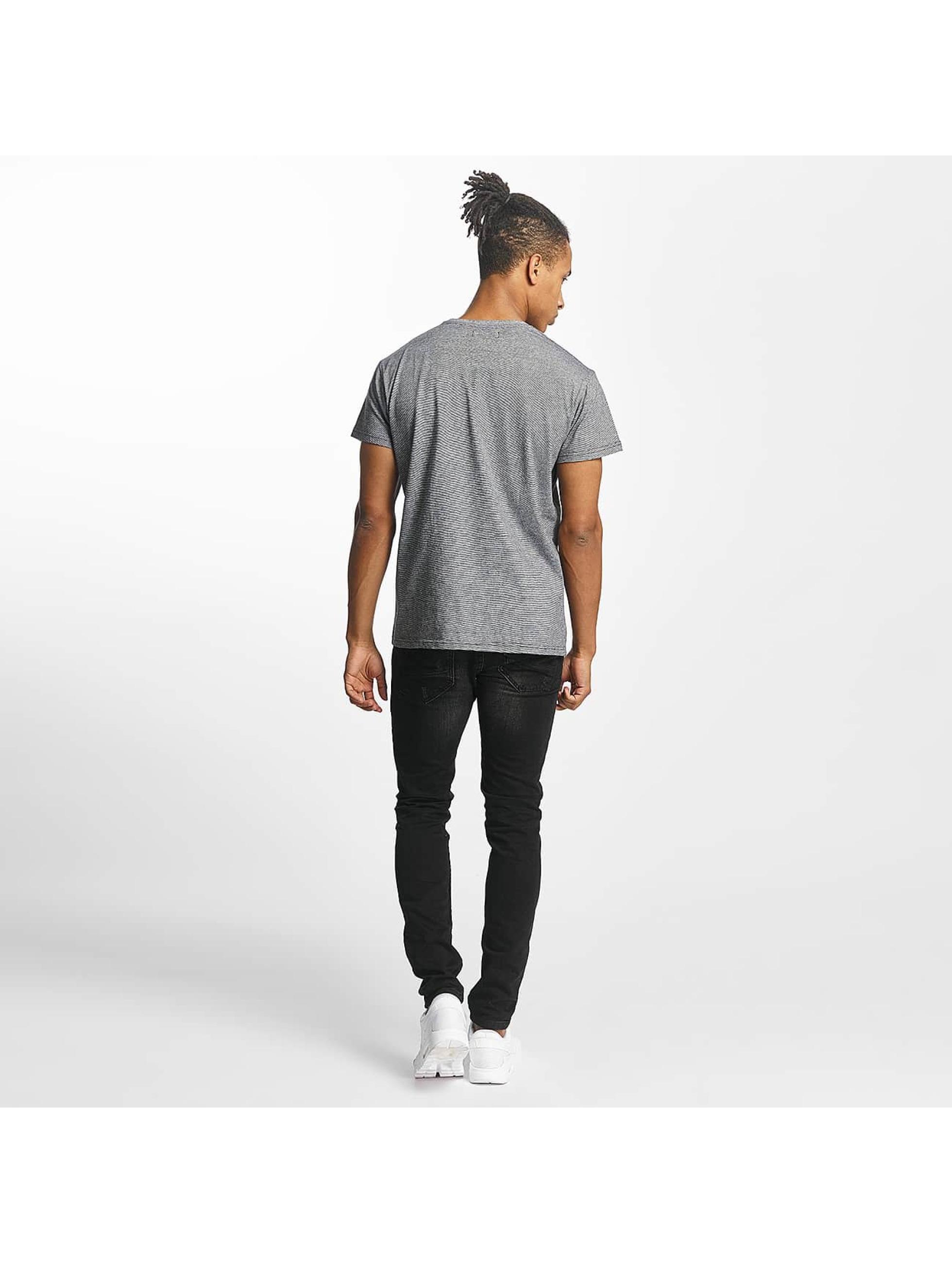 Paris Premium t-shirt Stripe grijs