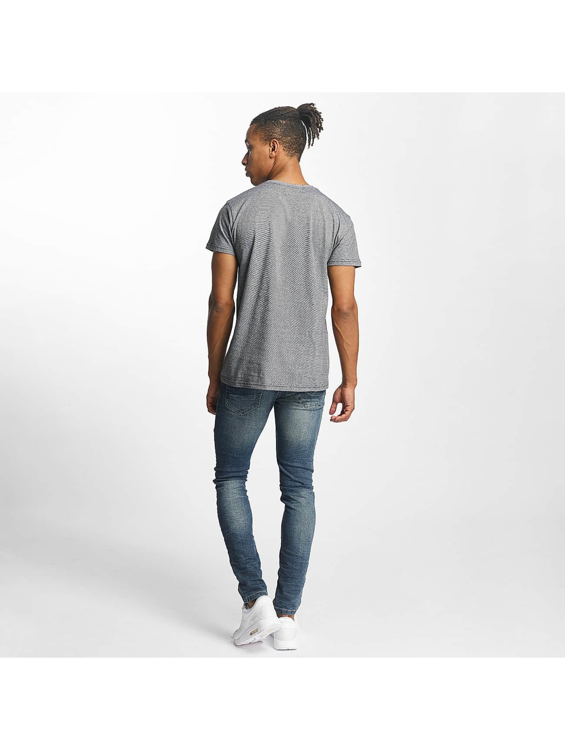 Paris Premium t-shirt Stripe grijs