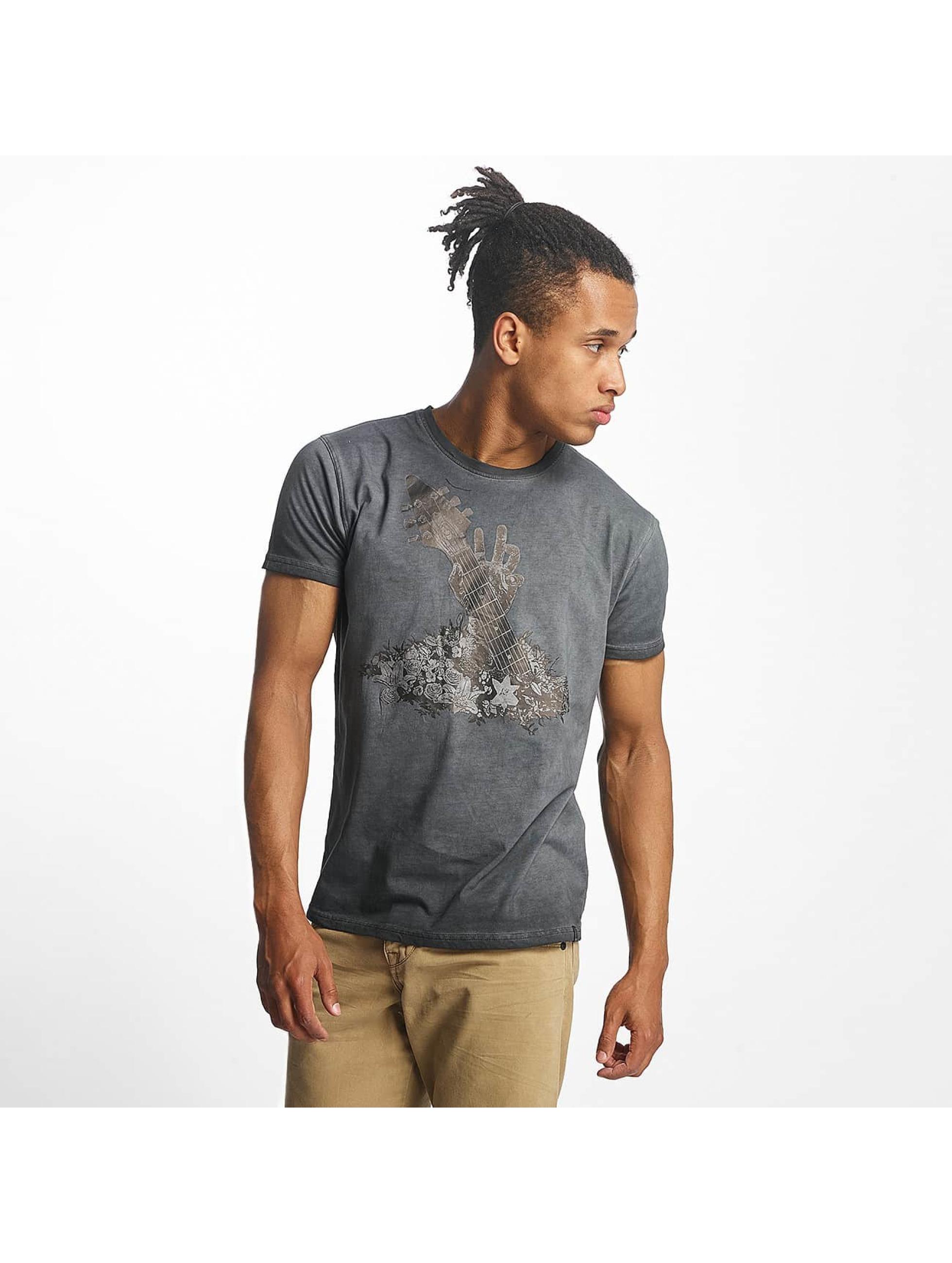 Paris Premium t-shirt Guitar grijs