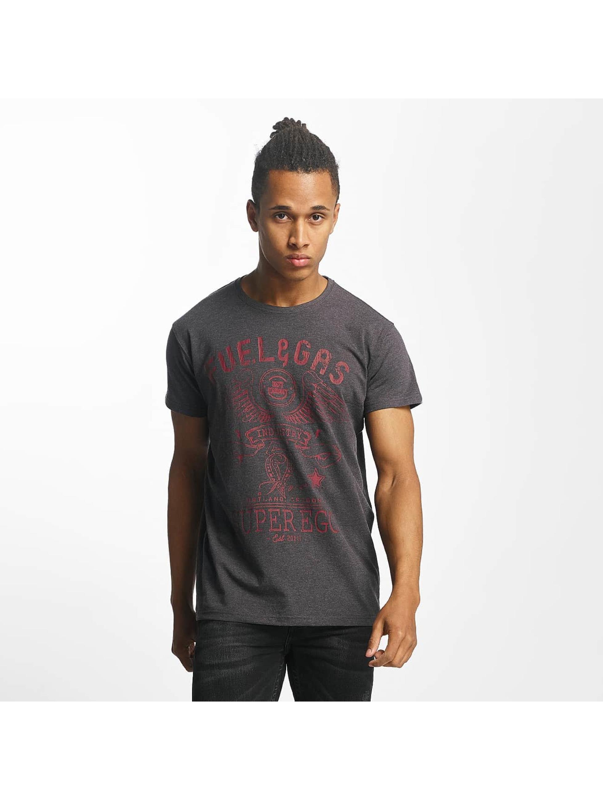Paris Premium T-Shirt Fuel & Gas gris