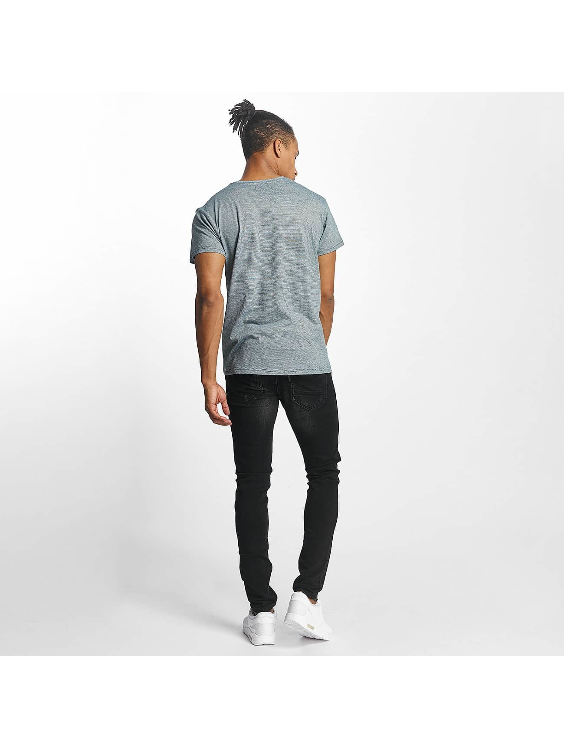 Paris Premium T-Shirt Stripe grün