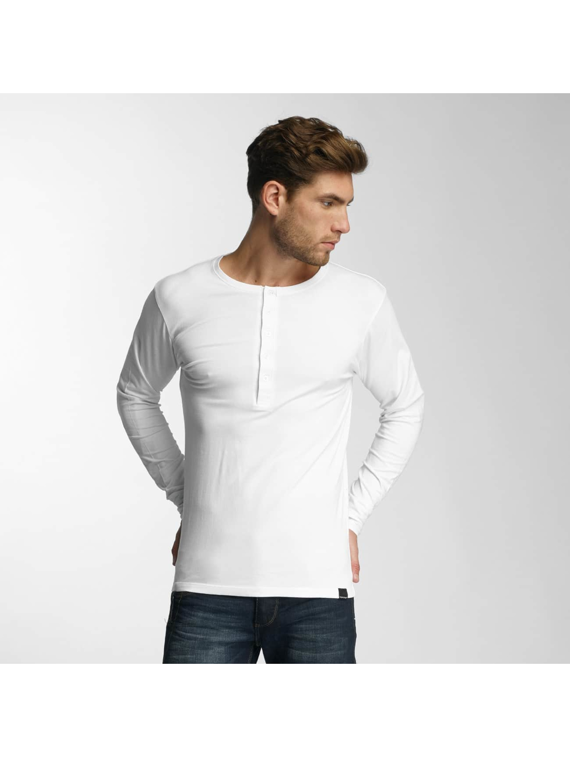Paris Premium T-Shirt manches longues Basic blanc