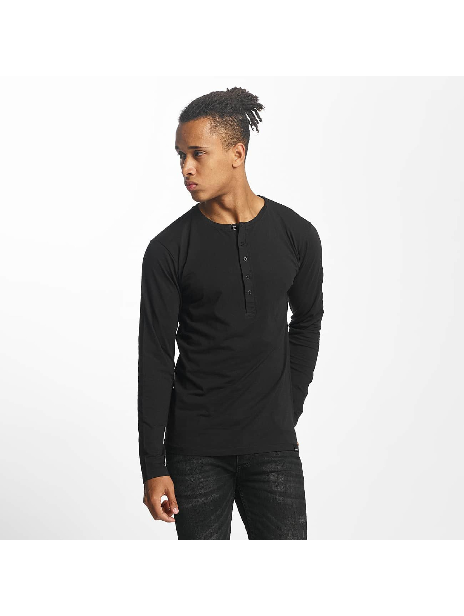 Paris Premium T-Shirt manches longues Basic noir