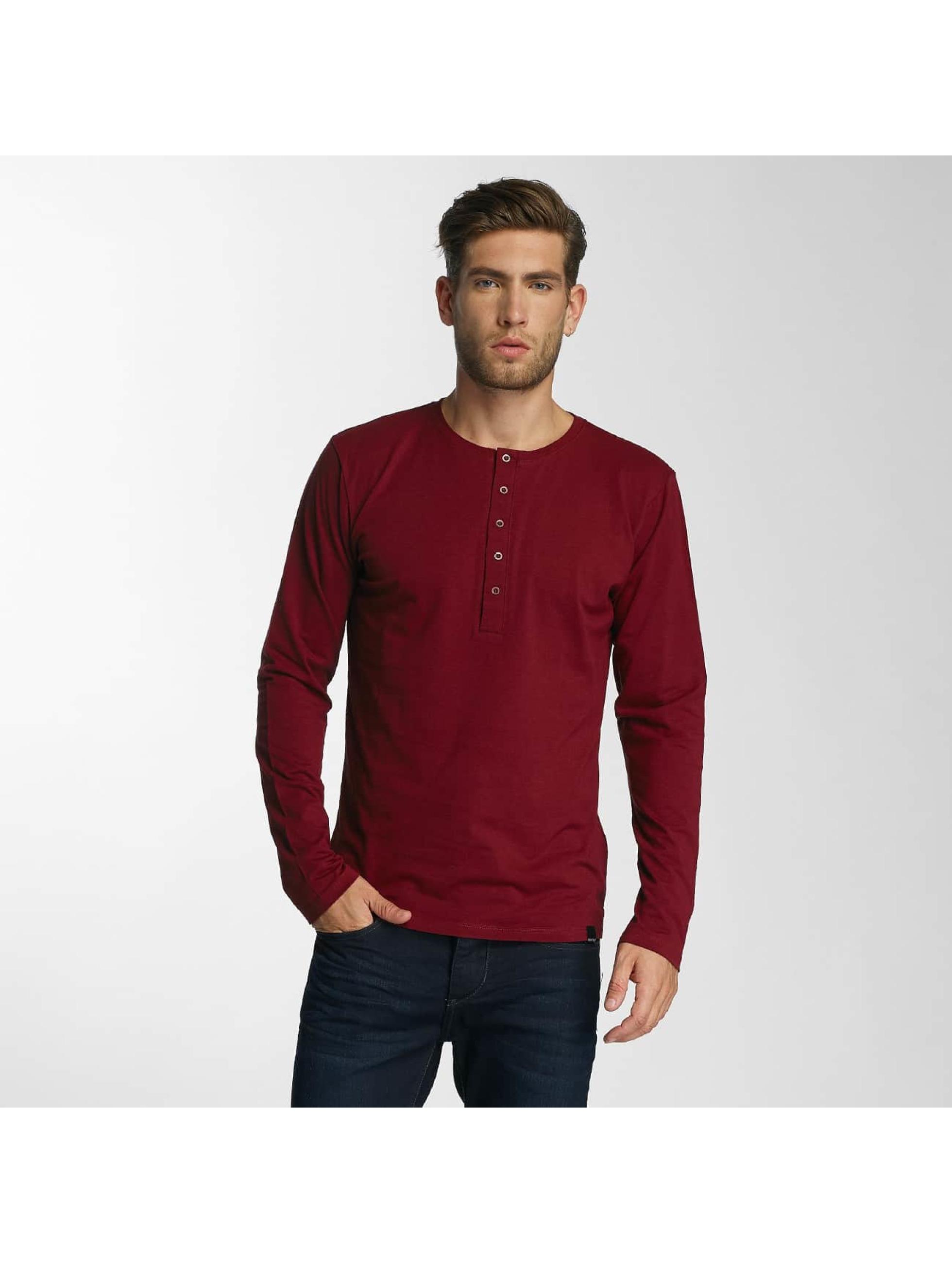 Paris Premium T-Shirt manches longues Basic rouge