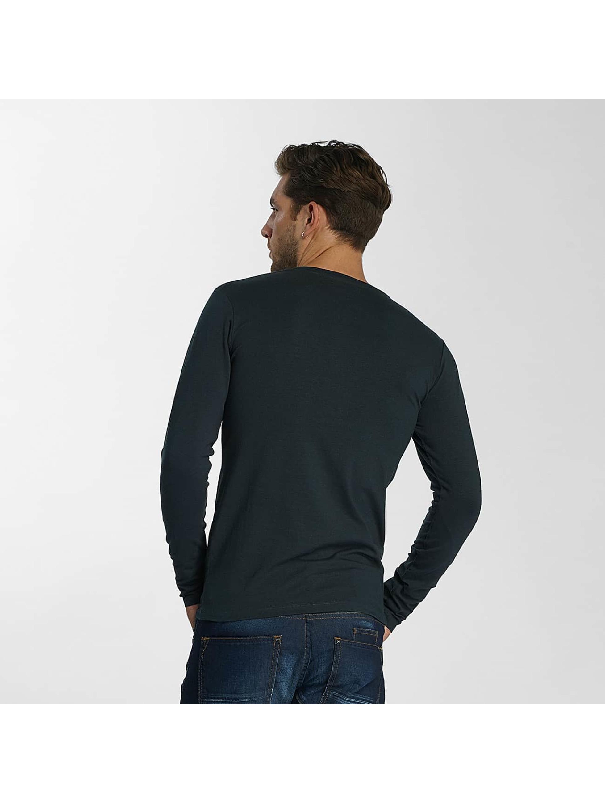 Paris Premium T-Shirt manches longues Basic vert