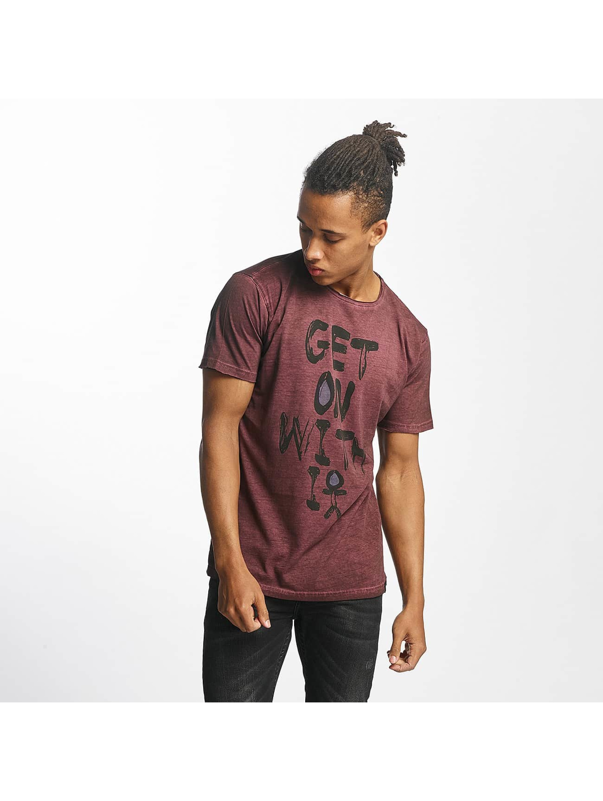 Paris Premium t-shirt Get on with it rood