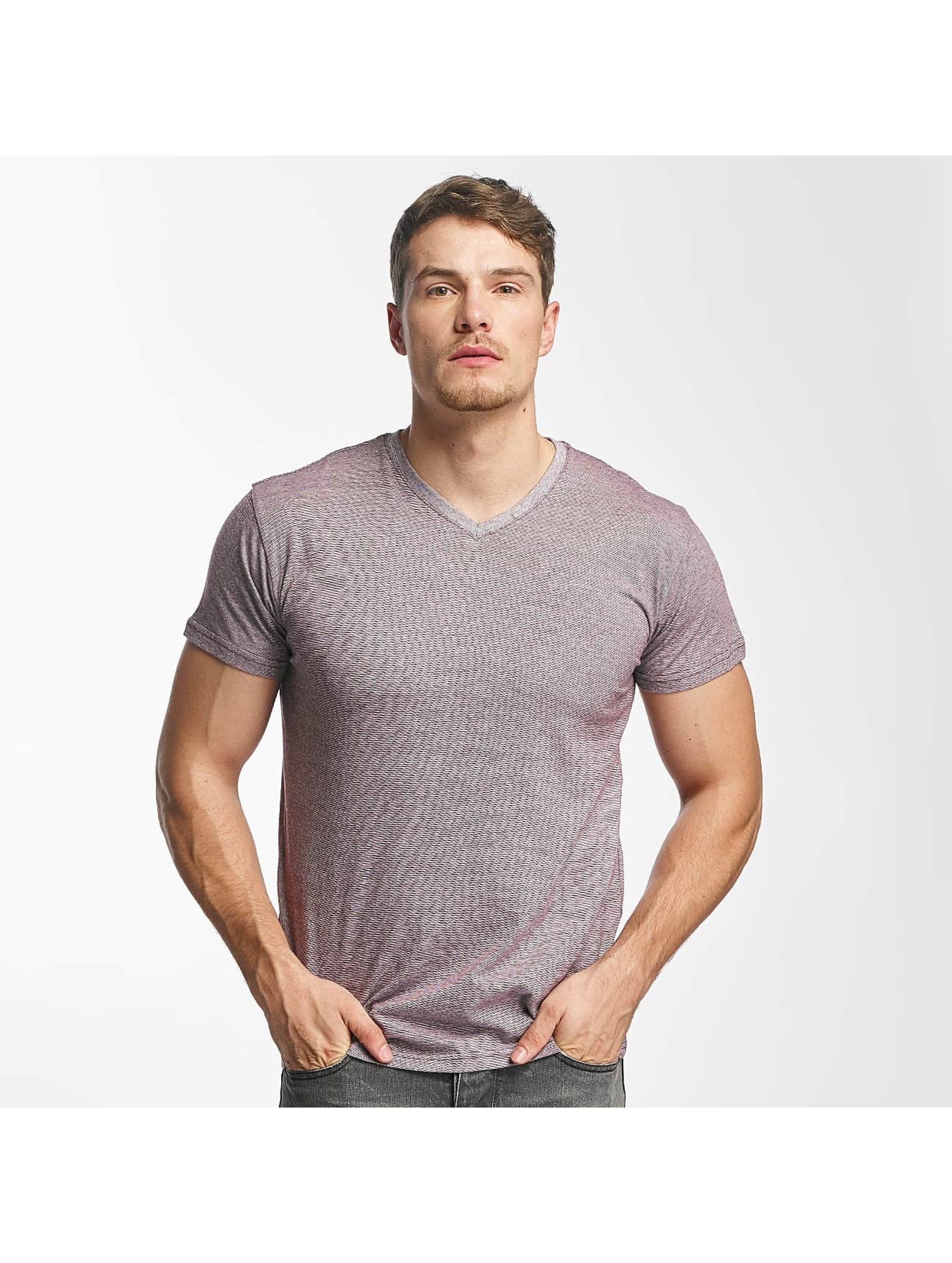 Paris Premium T-Shirt Stripe rouge