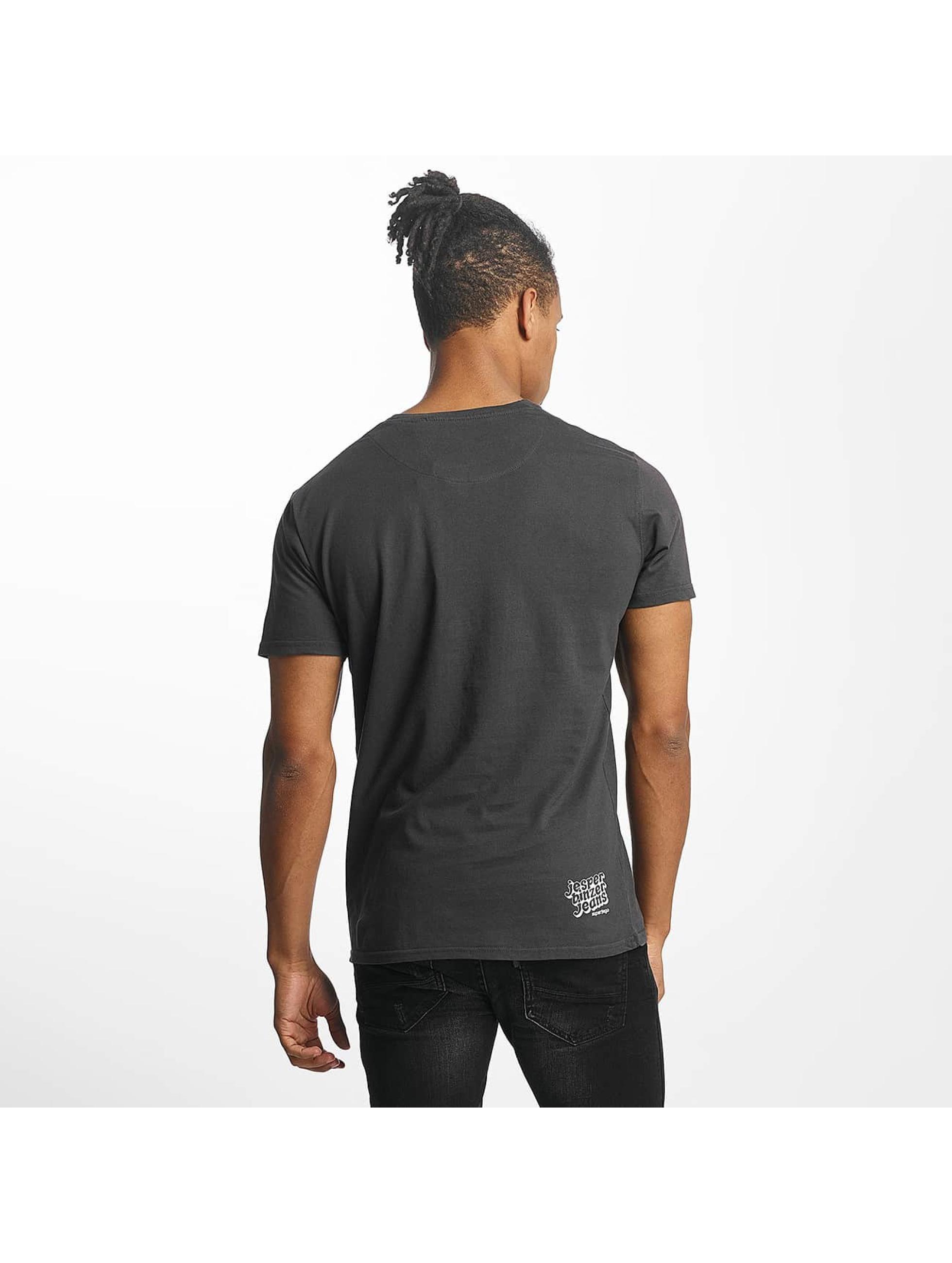 Paris Premium t-shirt Rockin' Skull zwart