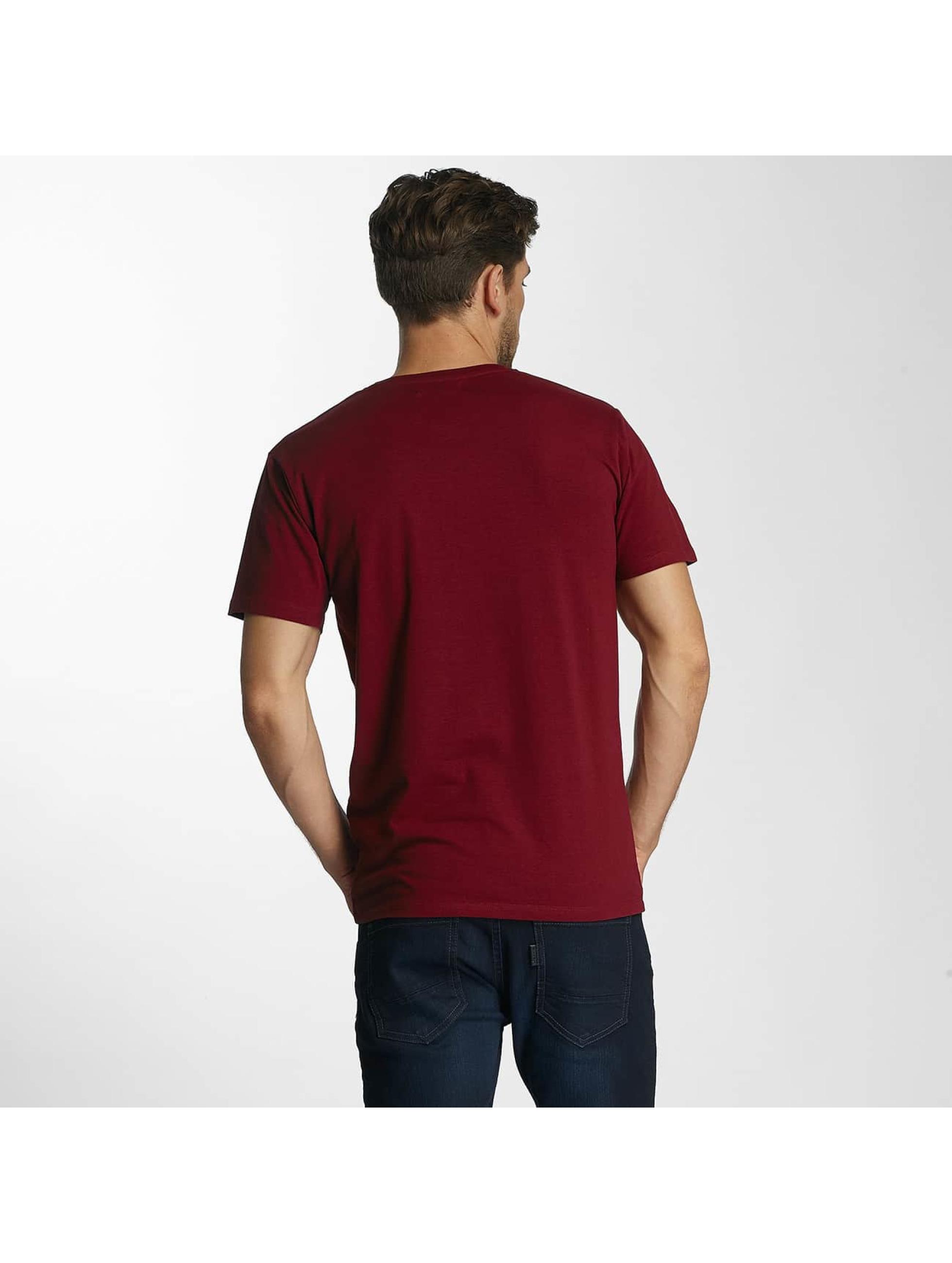 Paris Premium T-Shirty Basic czerwony
