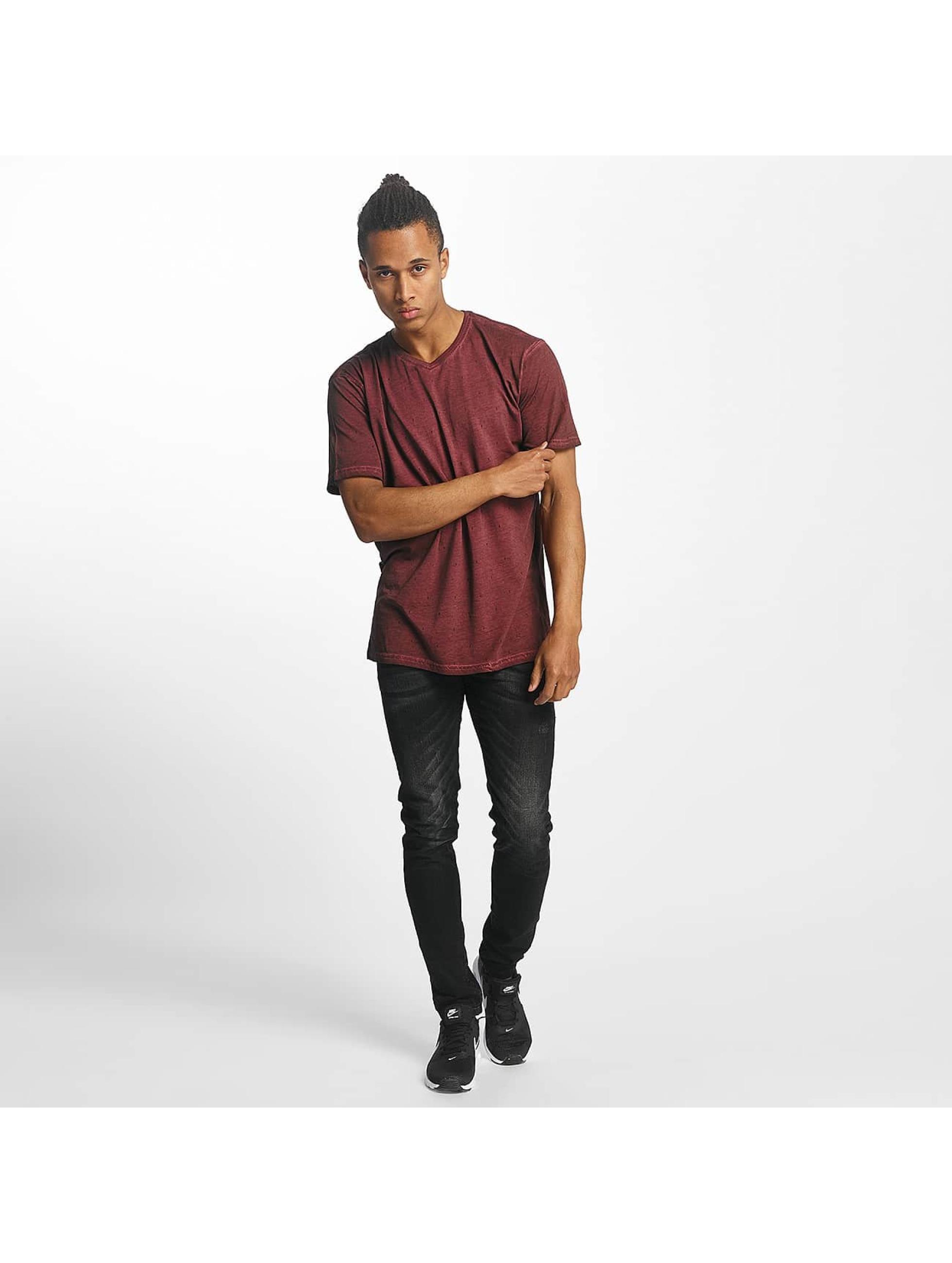 Paris Premium T-Shirty Logo czerwony