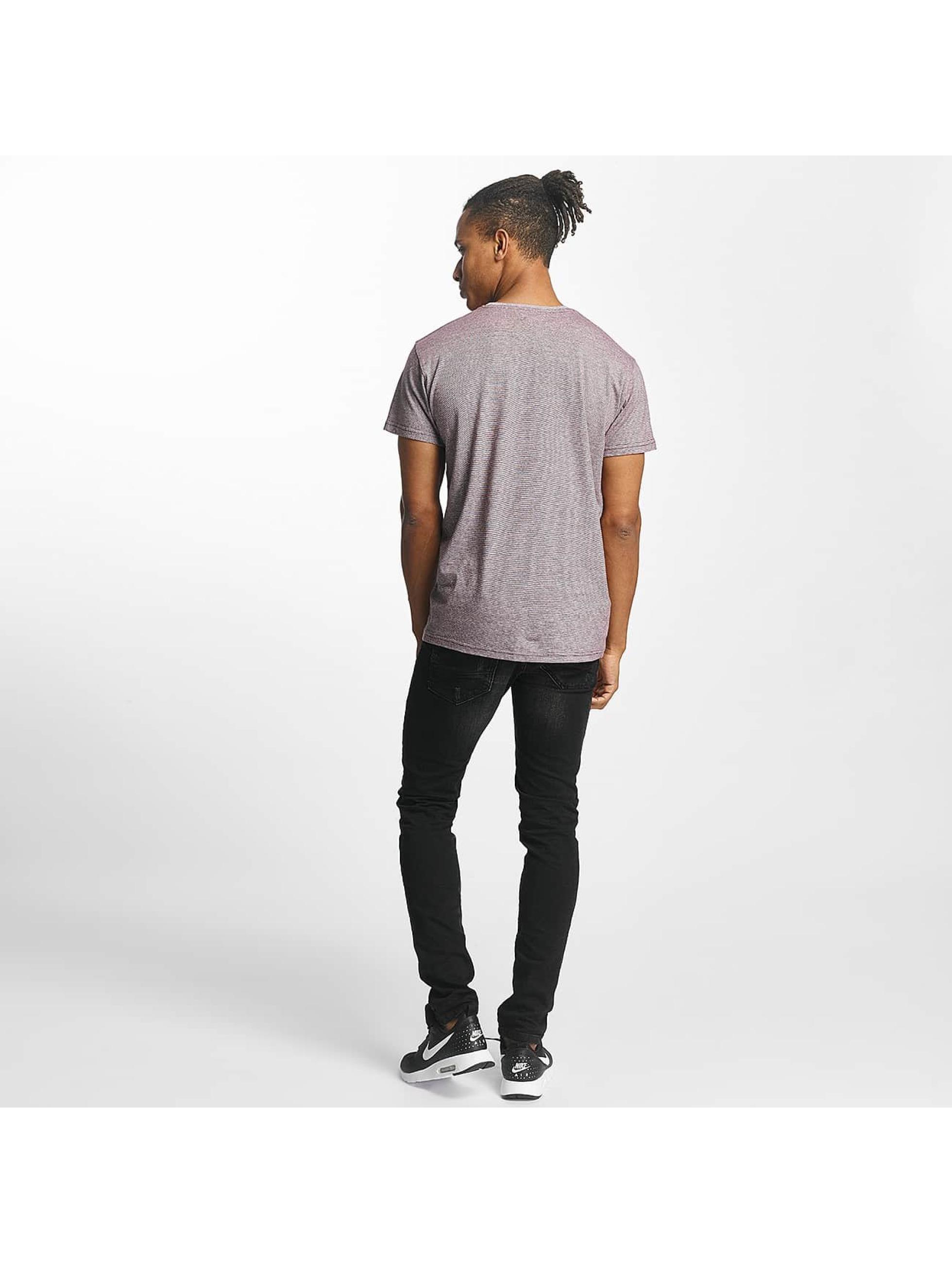 Paris Premium T-Shirty Stripe czerwony