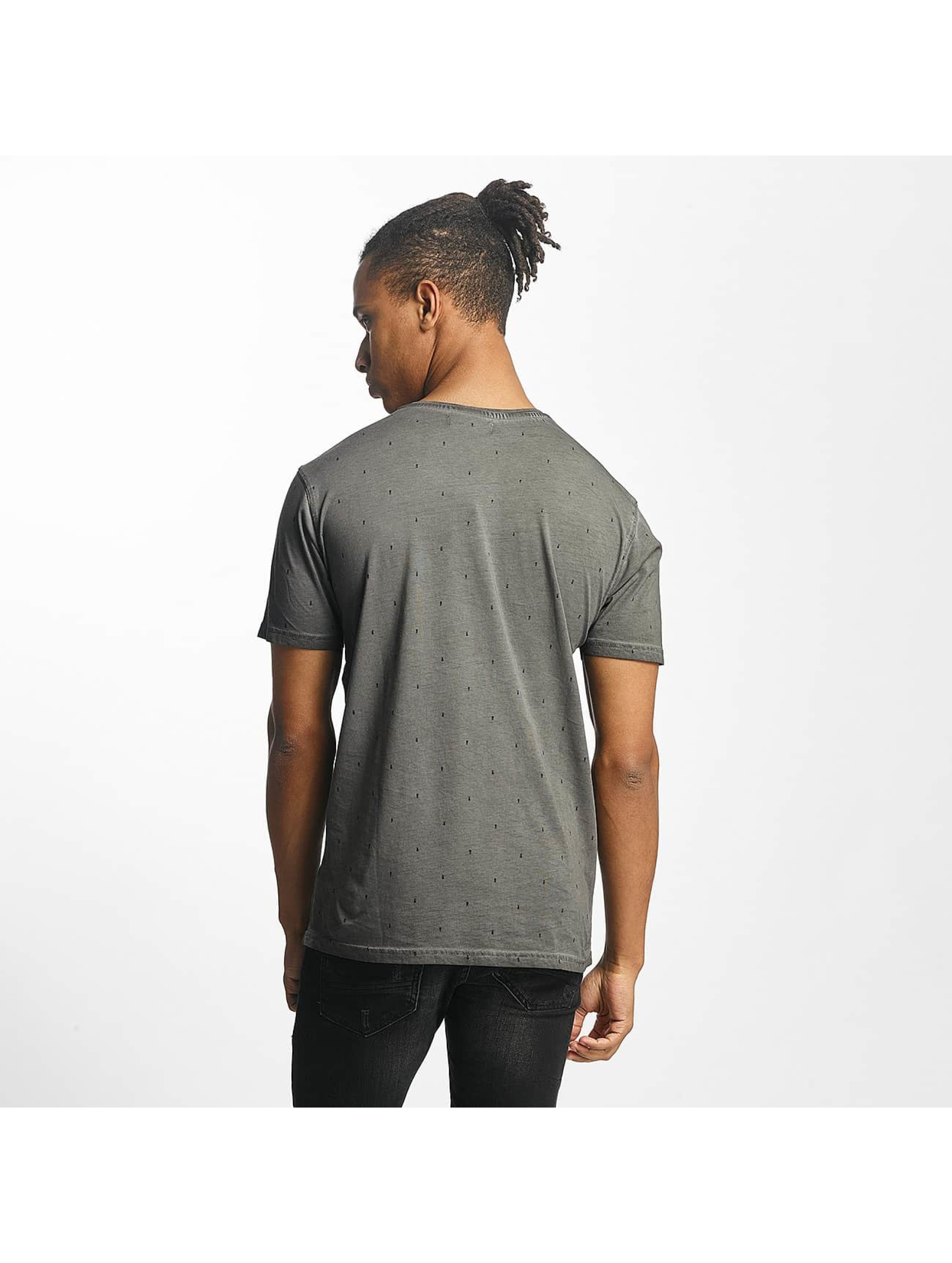 Paris Premium T-Shirty Logo szary