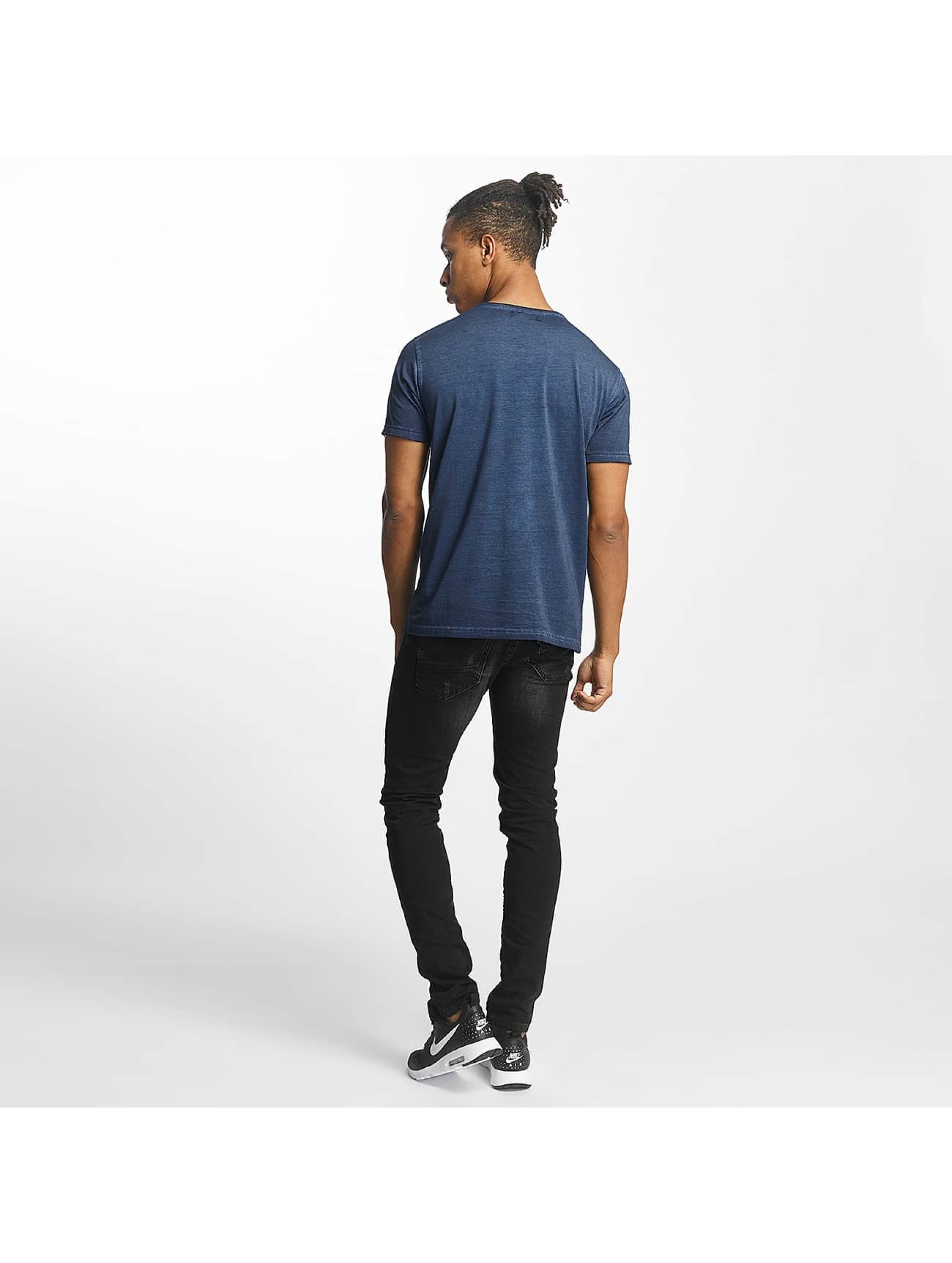 Paris Premium T-skjorter Get on with it blå