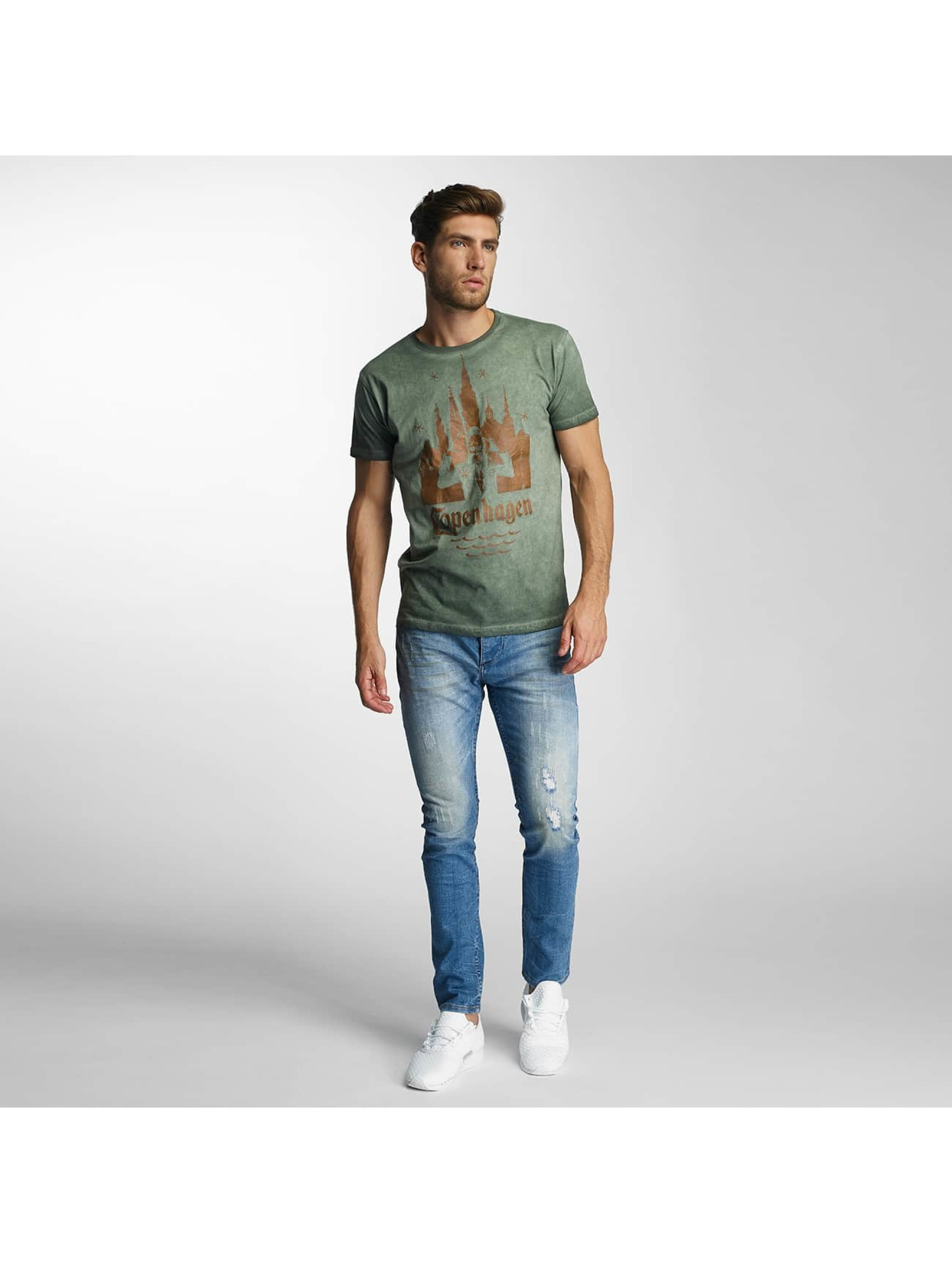 Paris Premium T-skjorter Copenhagen grøn