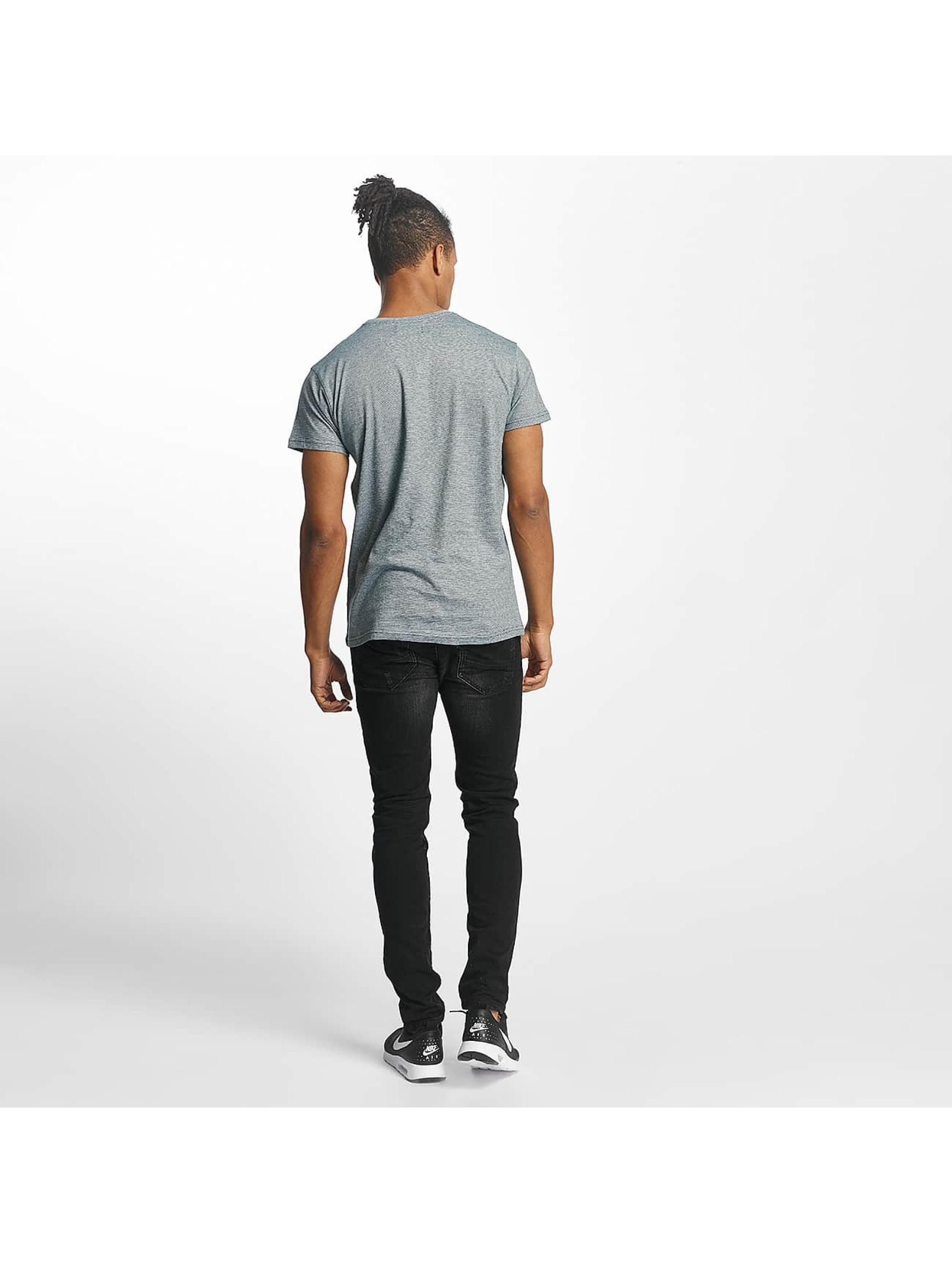Paris Premium T-skjorter Stripe turkis