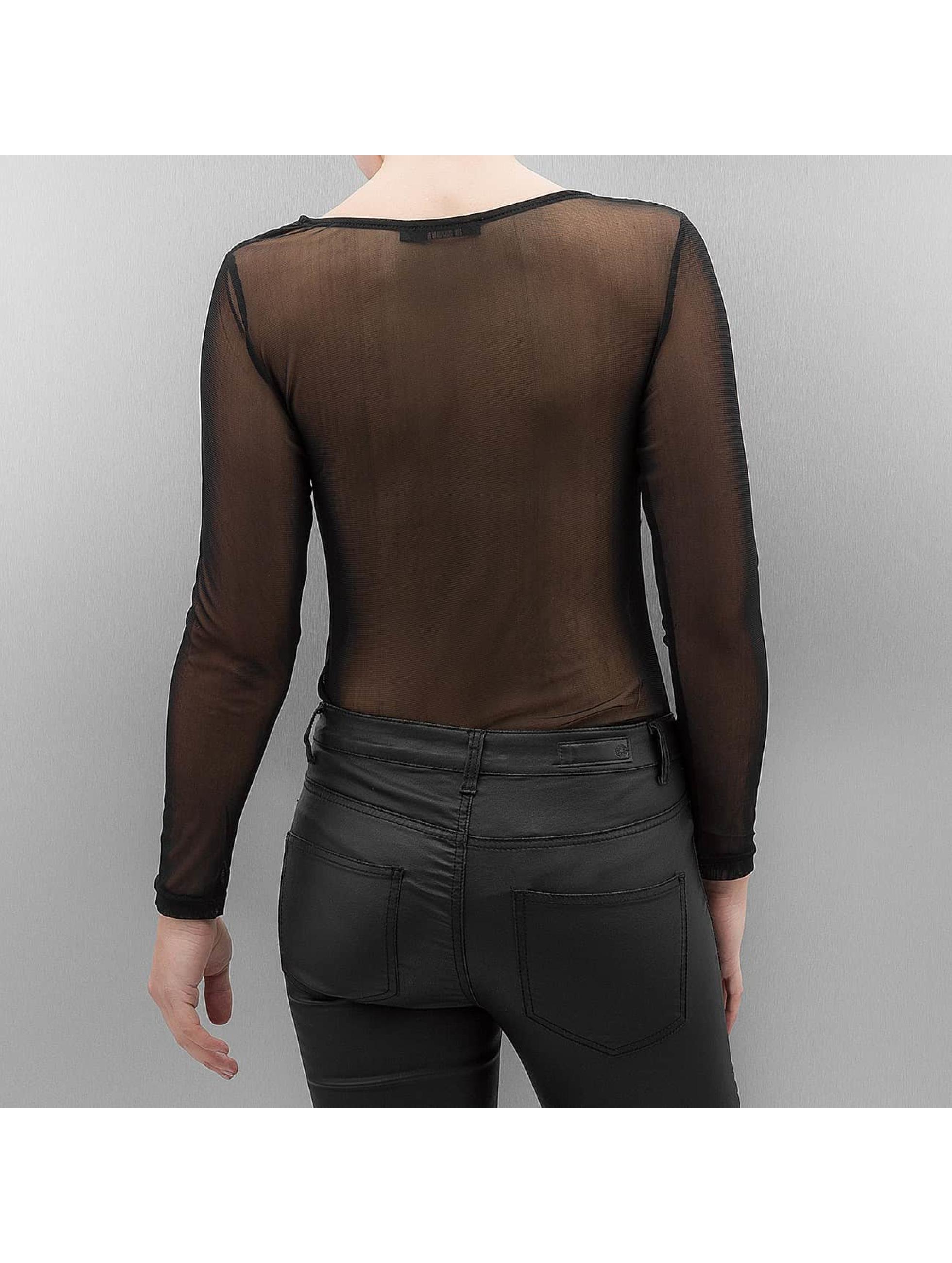 Paris Premium Tričká dlhý rukáv Priska èierna