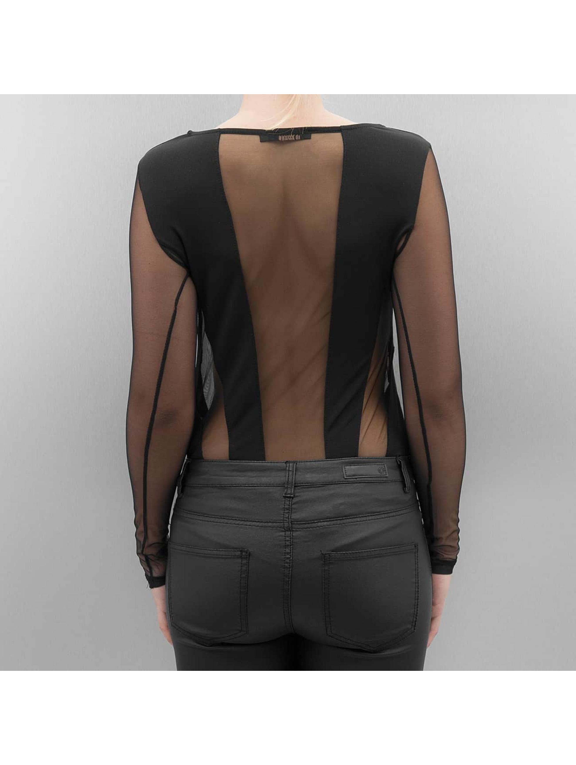 Paris Premium Tričká dlhý rukáv Xenia èierna