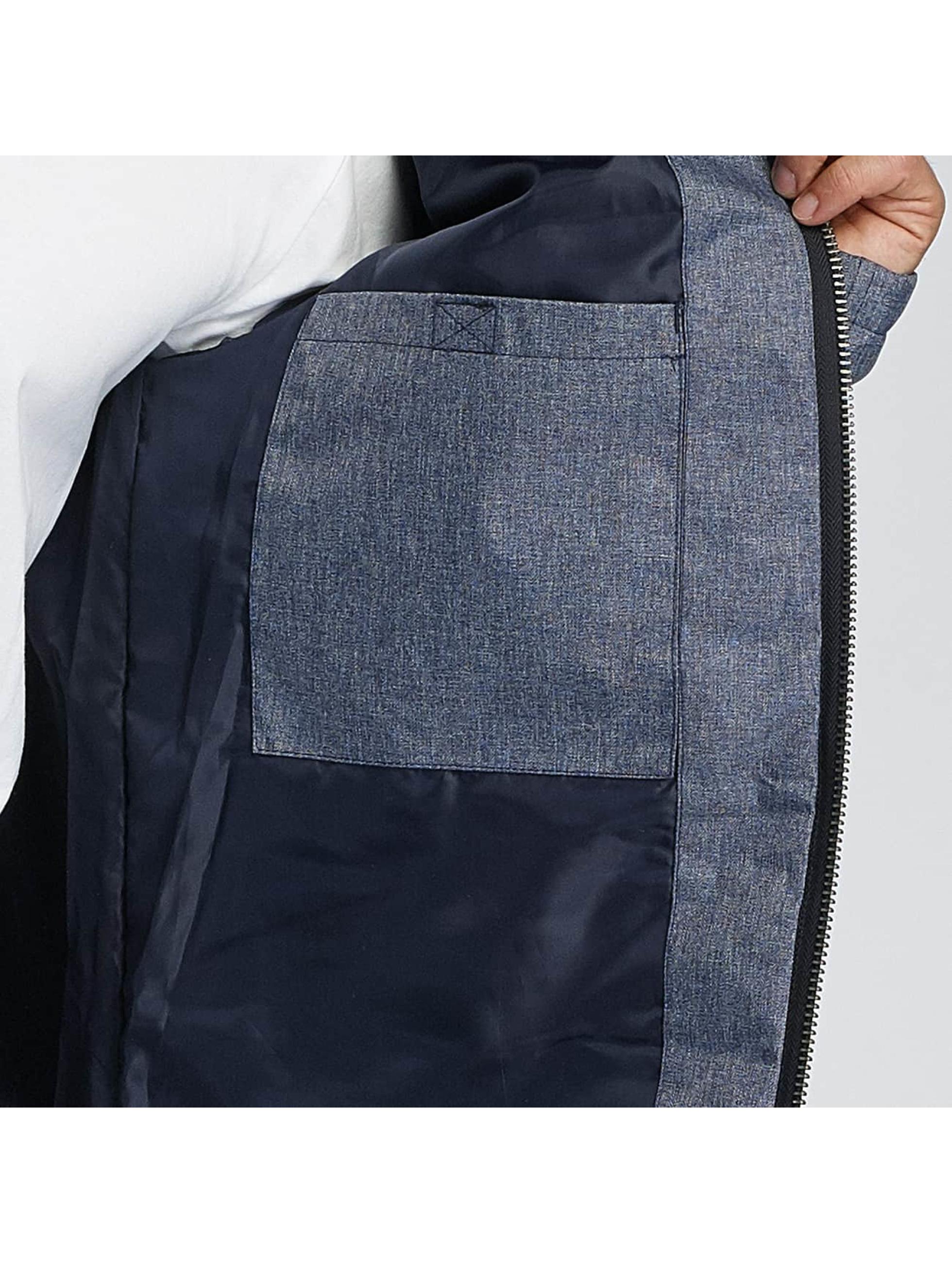 Paris Premium Vinterjakke Fluffy blå