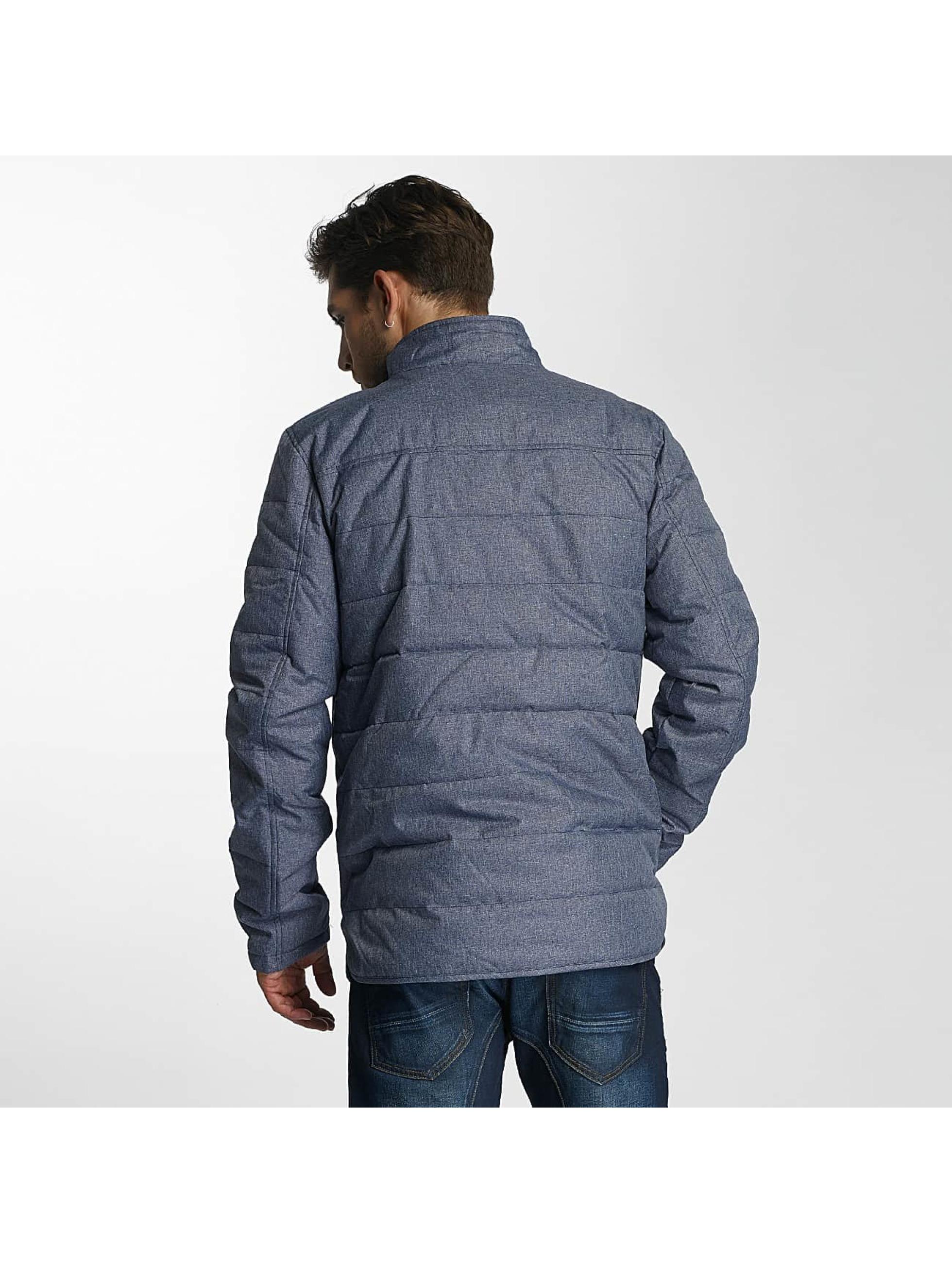 Paris Premium Winter Jacket Fluffy blue