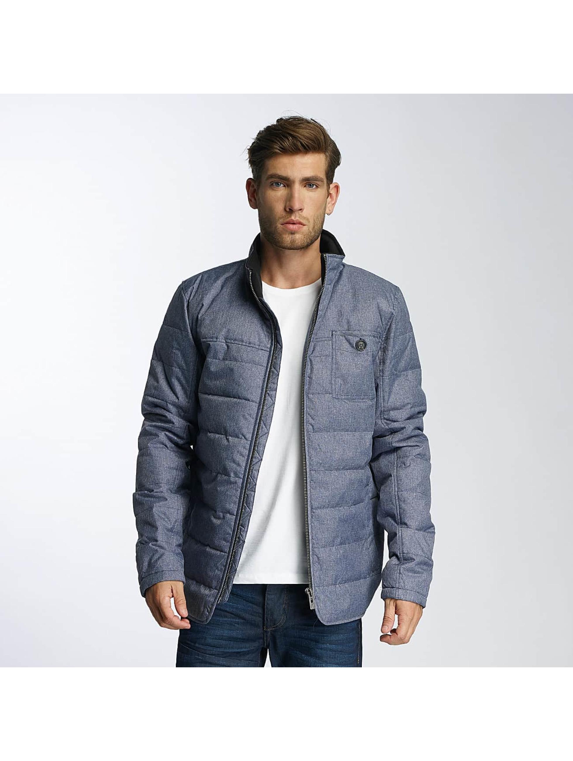 Paris Premium Winterjacke Fluffy blau