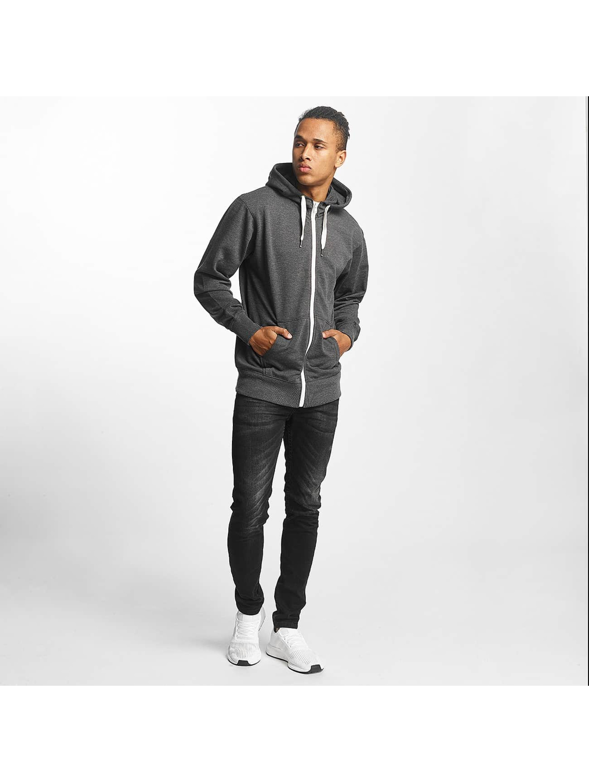 Paris Premium Zip Hoodie Basic grey