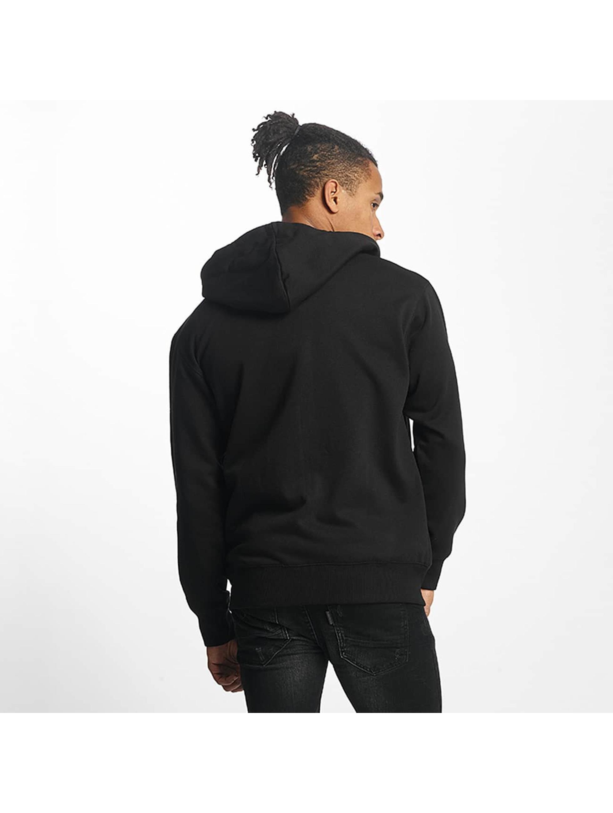 Paris Premium Zip Hoodie Basic schwarz