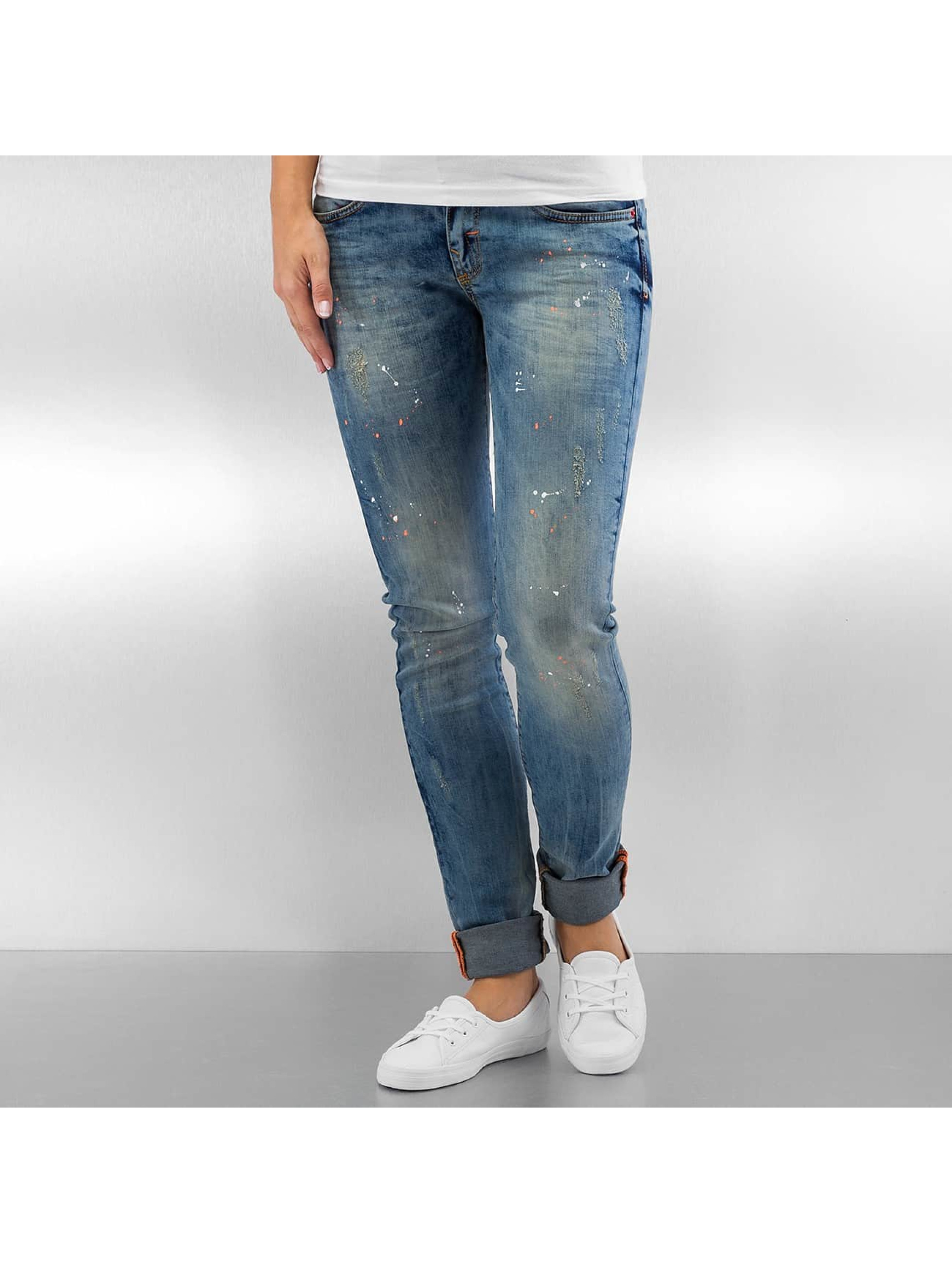 Pascucci Облегающие джинсы B-Leny синий