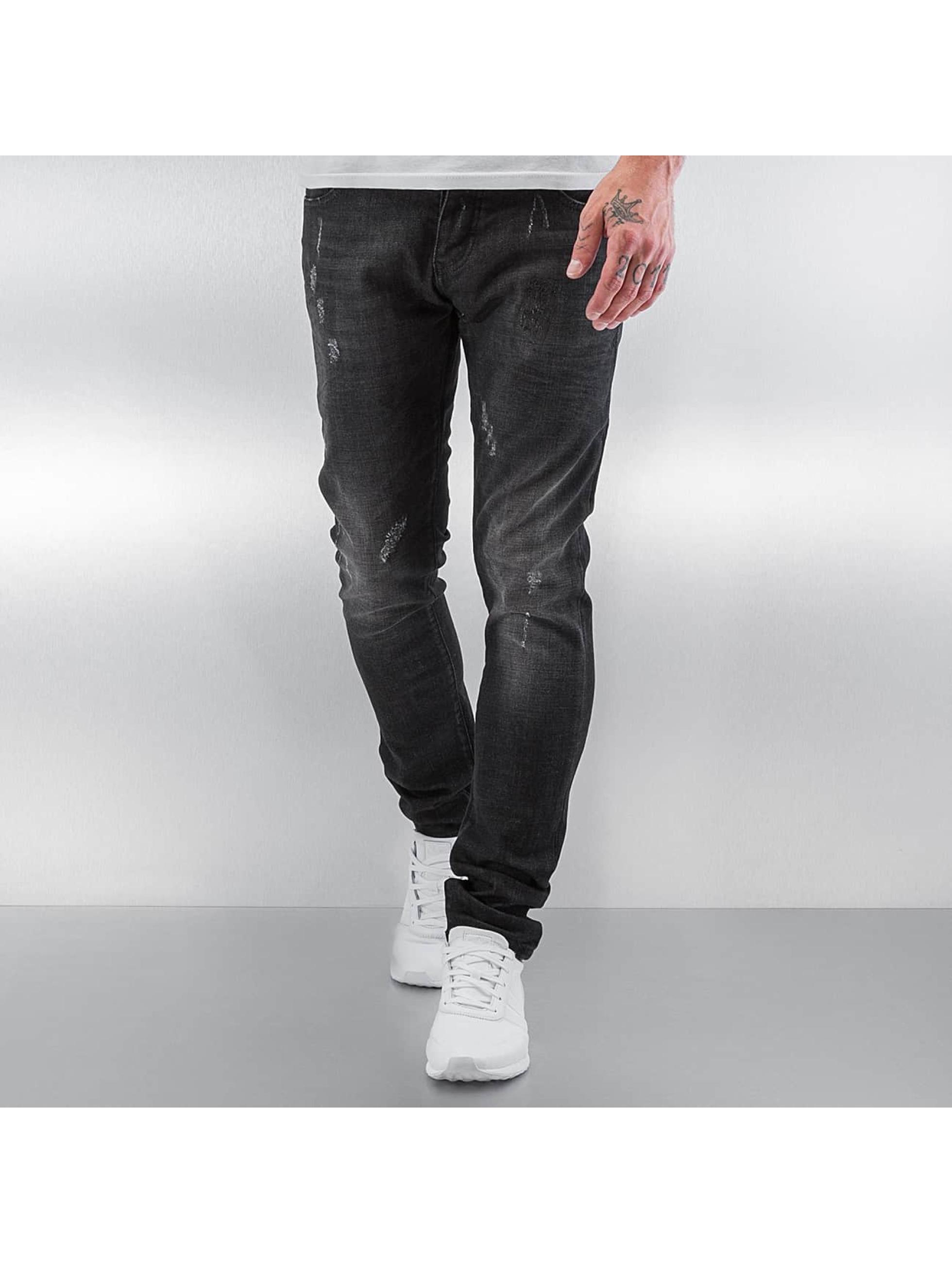 Pascucci Облегающие джинсы Daddy черный