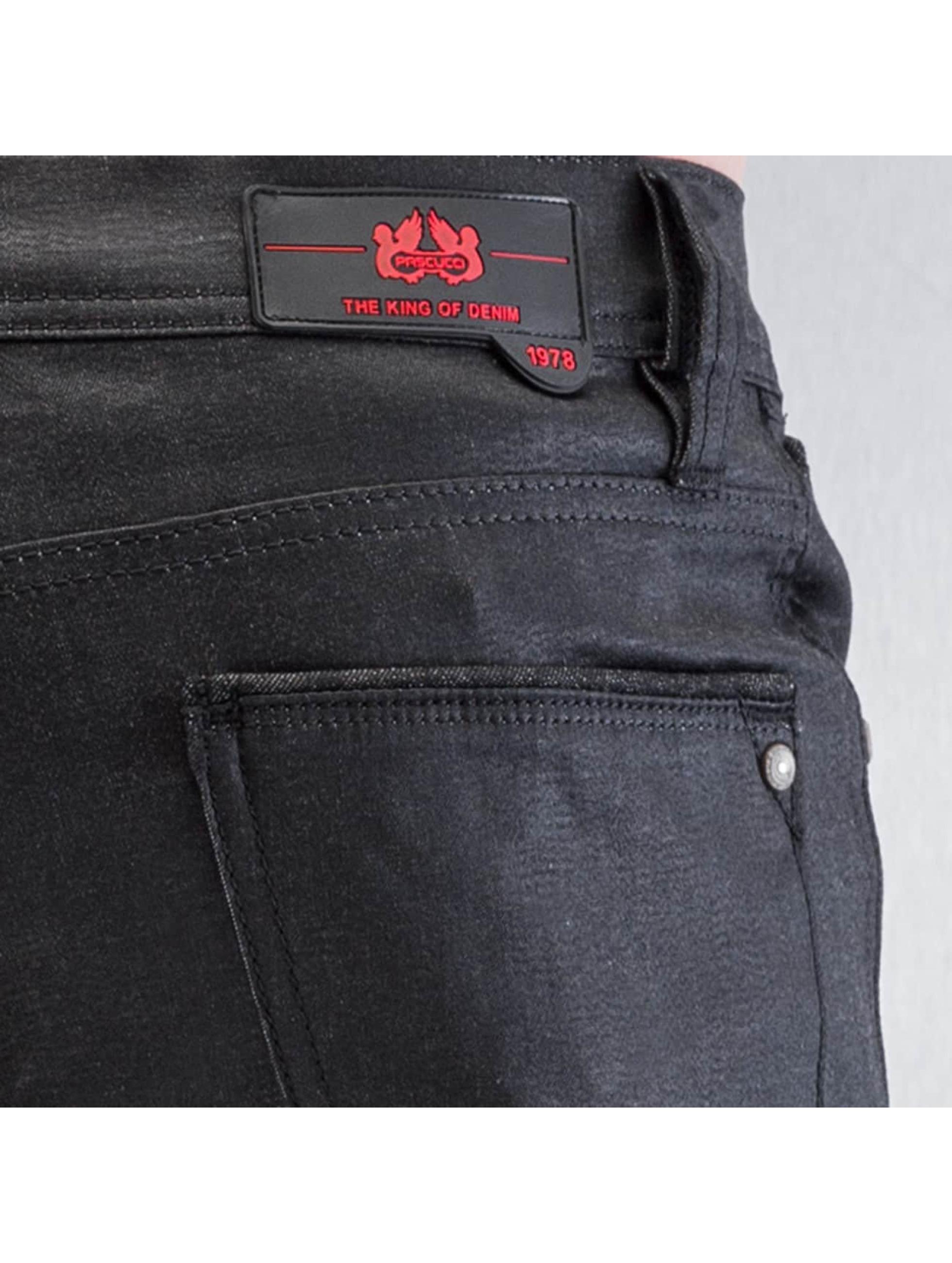 Pascucci Облегающие джинсы Abbi черный
