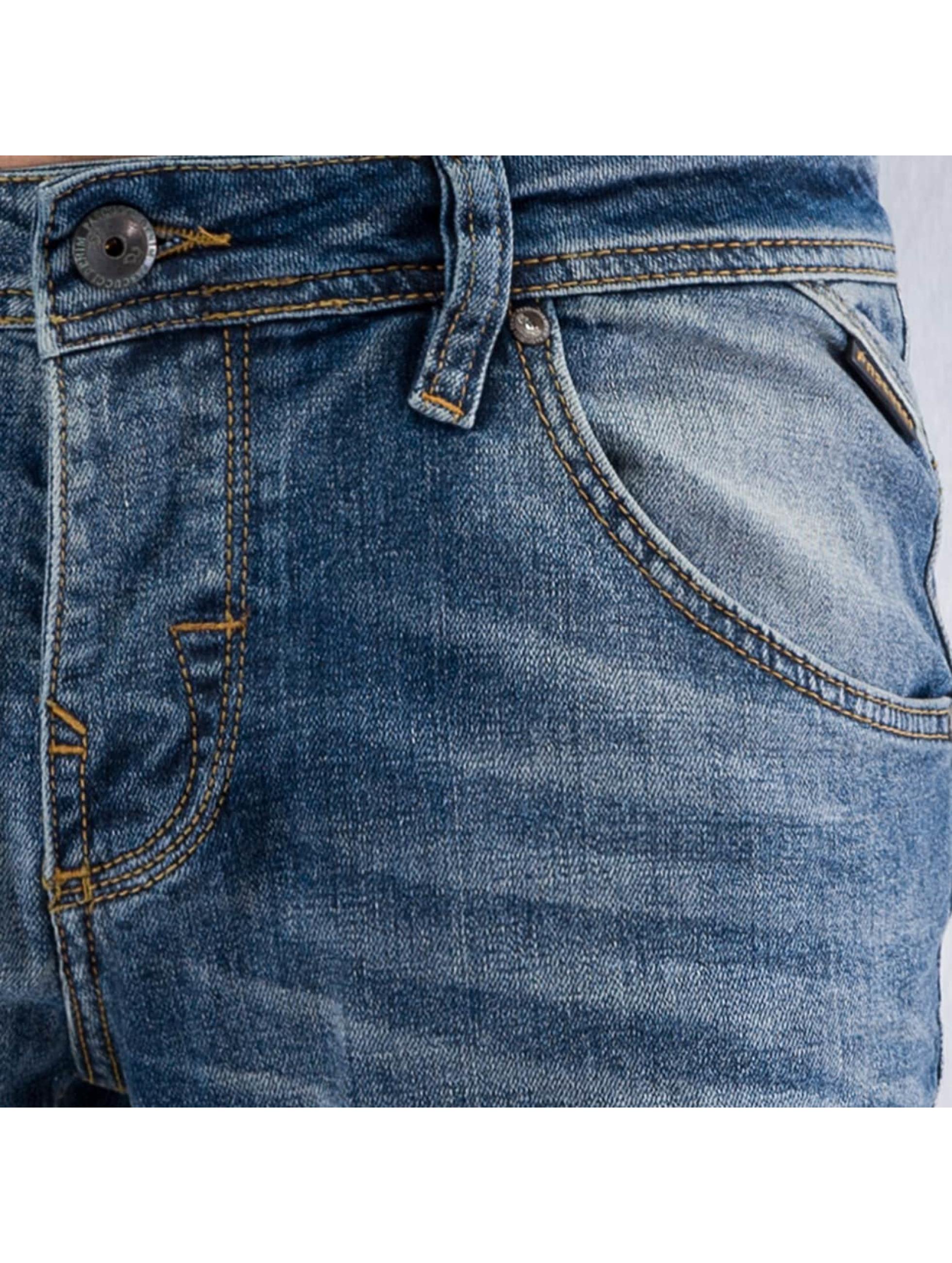 Pascucci Dżinsy straight fit Siggi niebieski