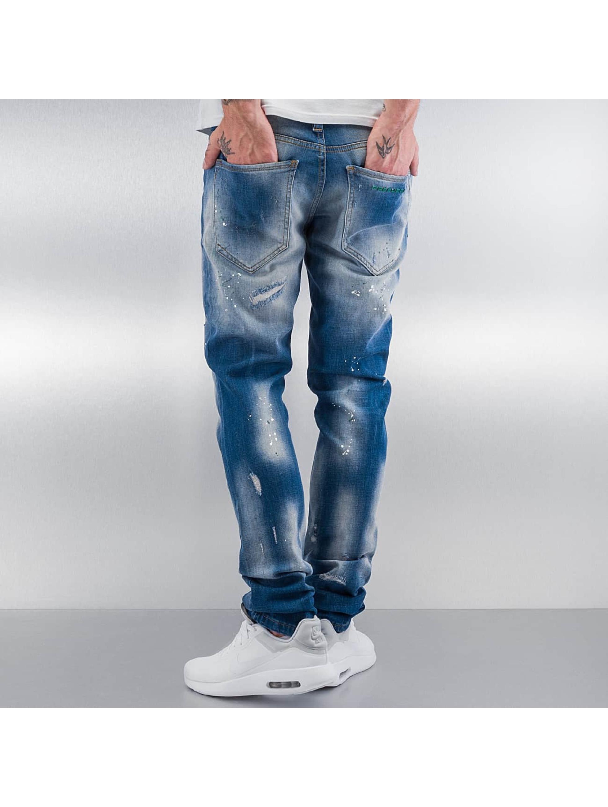 Pascucci Dżinsy straight fit Ymsi niebieski