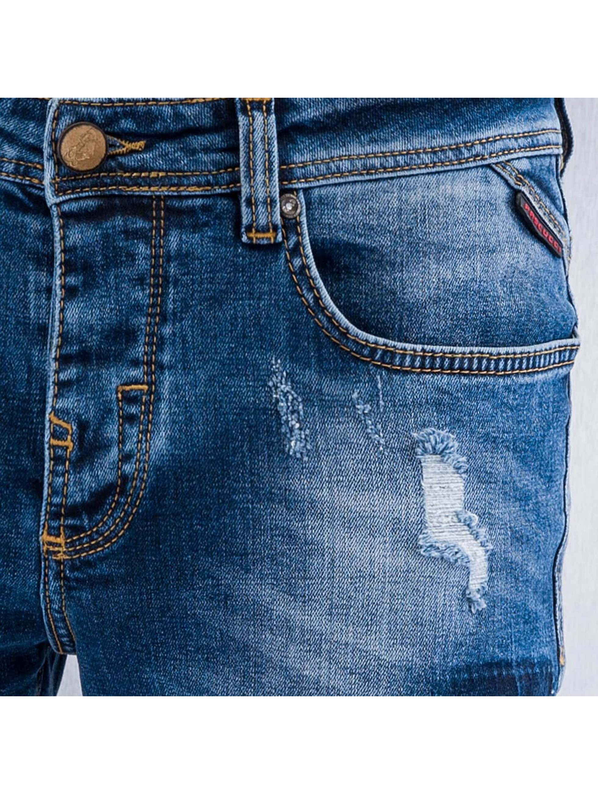 Pascucci Dżinsy straight fit Suzi niebieski