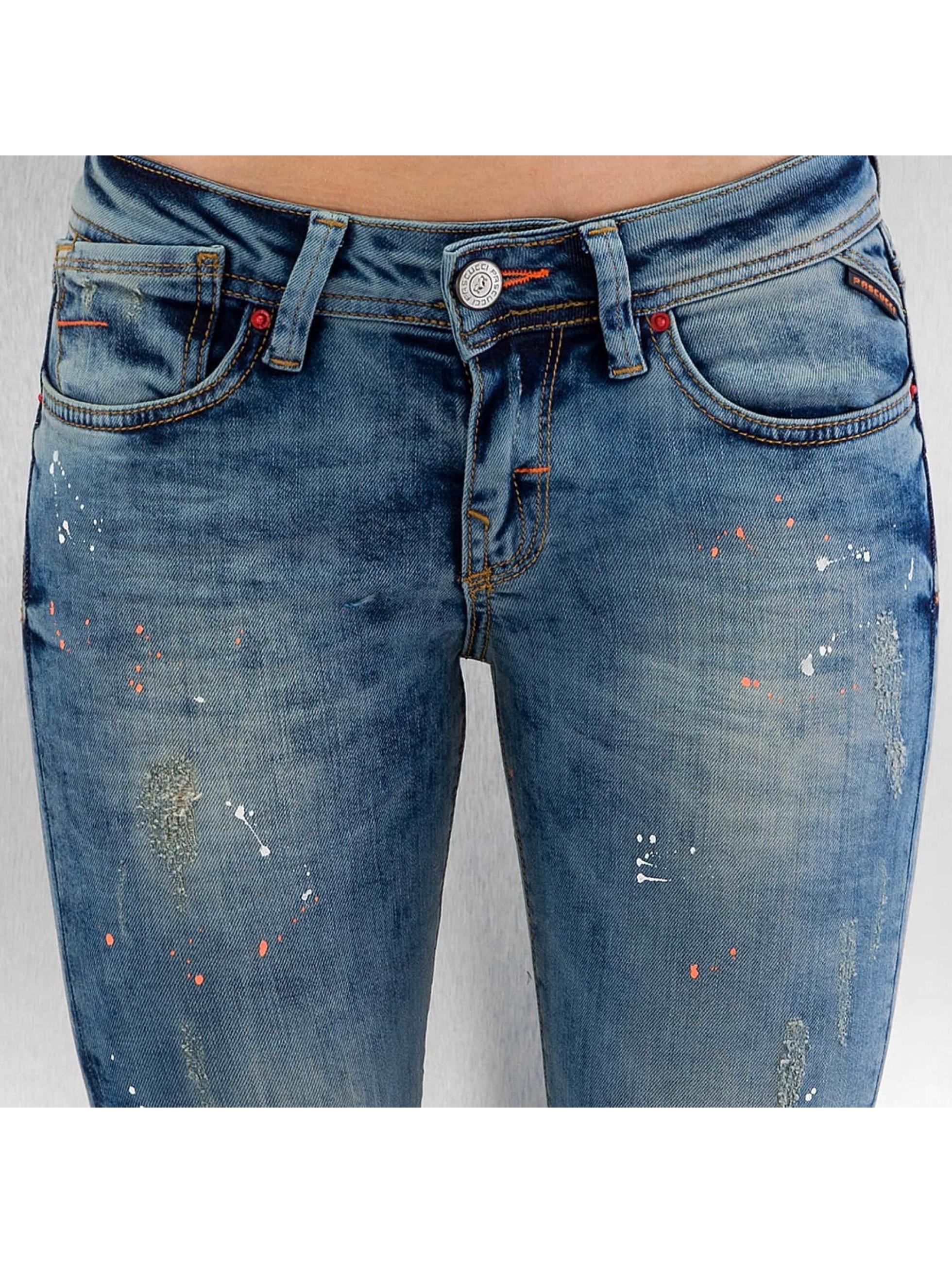Pascucci Skinny jeans B-Leny blauw