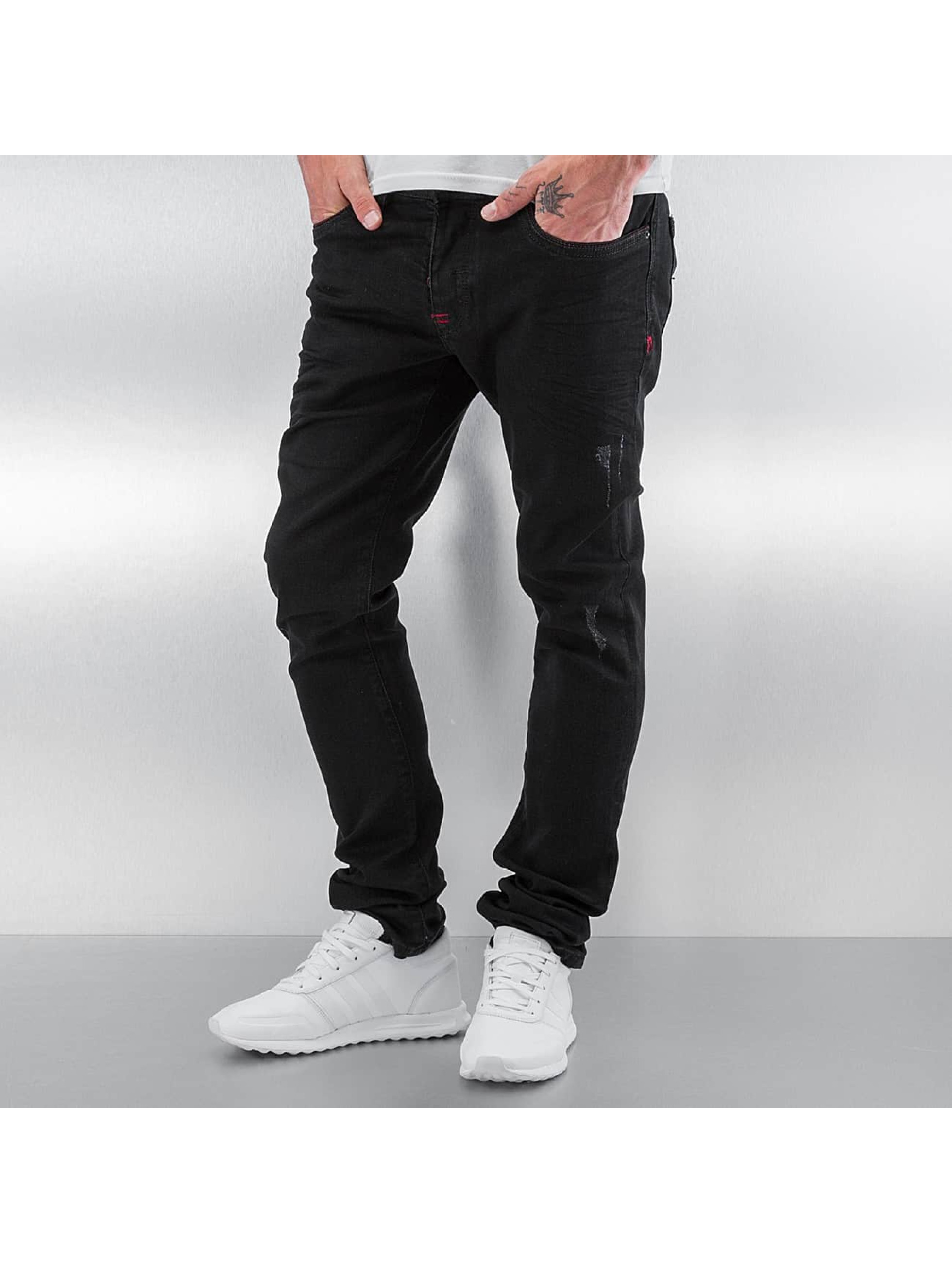 Skinny Jeans Thor in schwarz