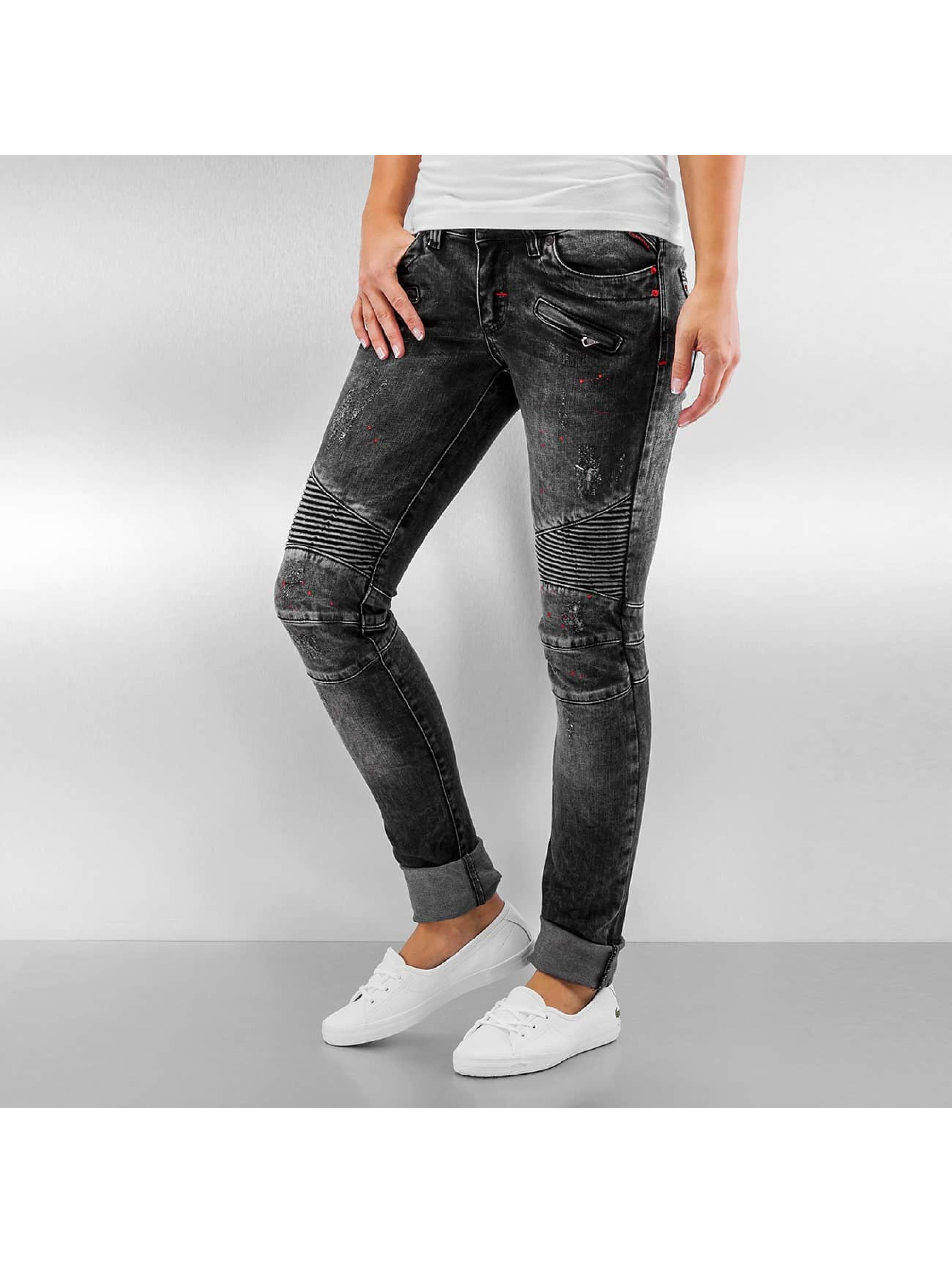 Pascucci Skinny Jeans B-Bond schwarz