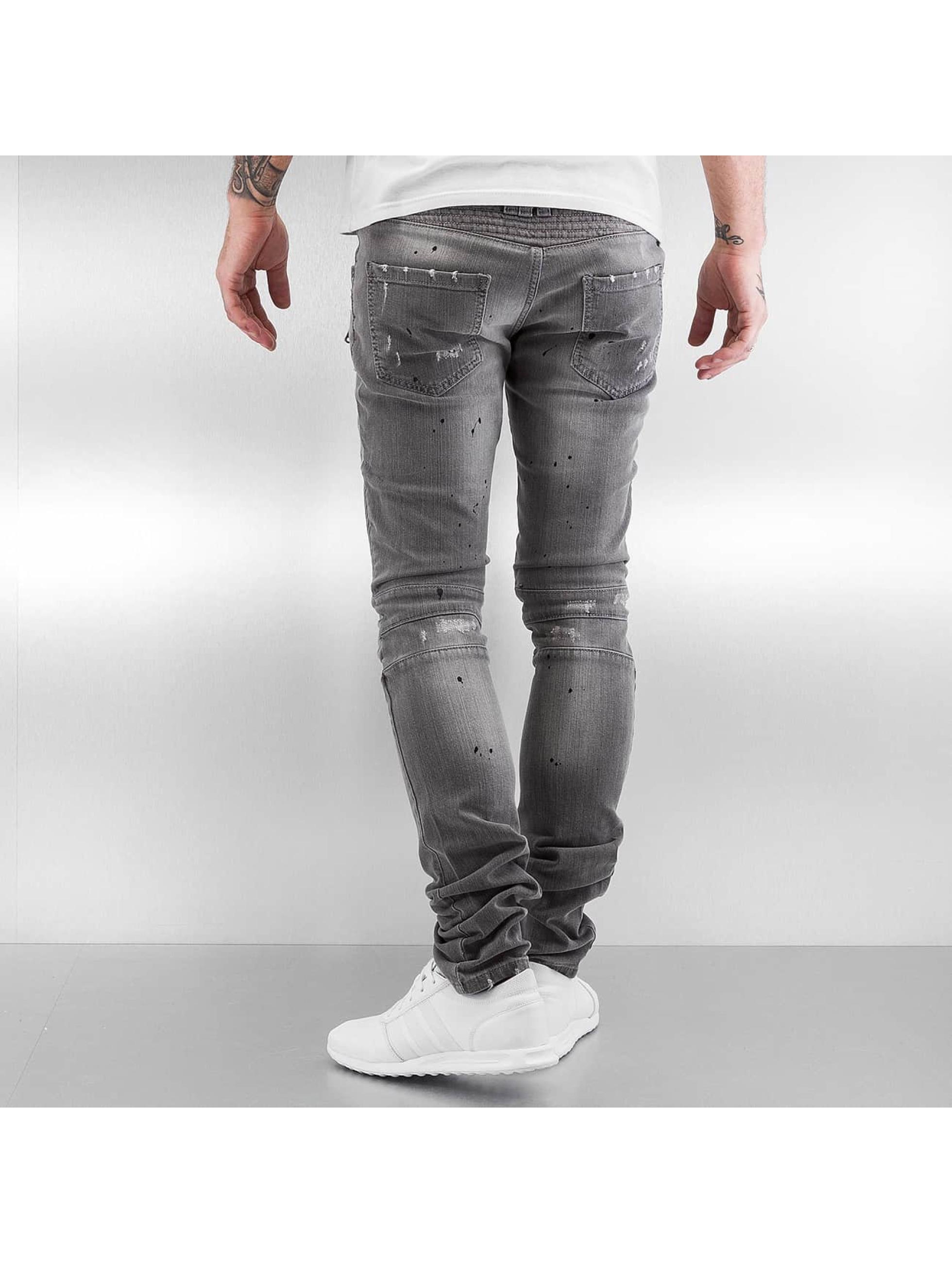 Pascucci Slim Fit Jeans Eik серый