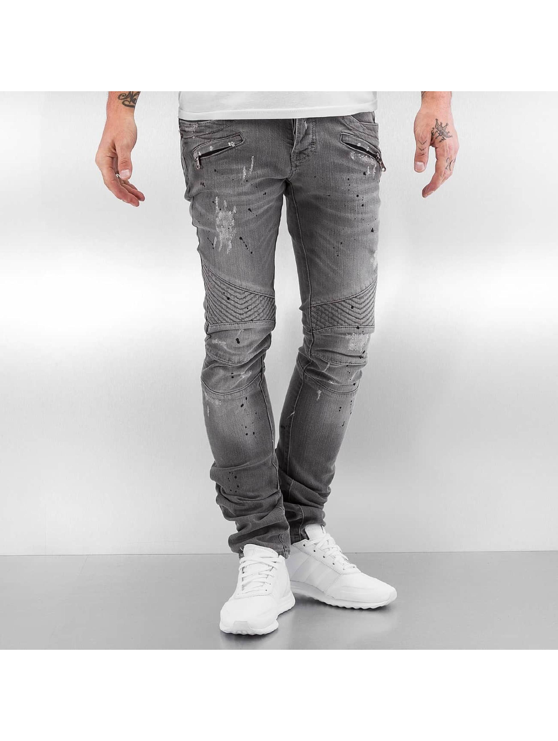 Pascucci Slim Fit Jeans Eik grau