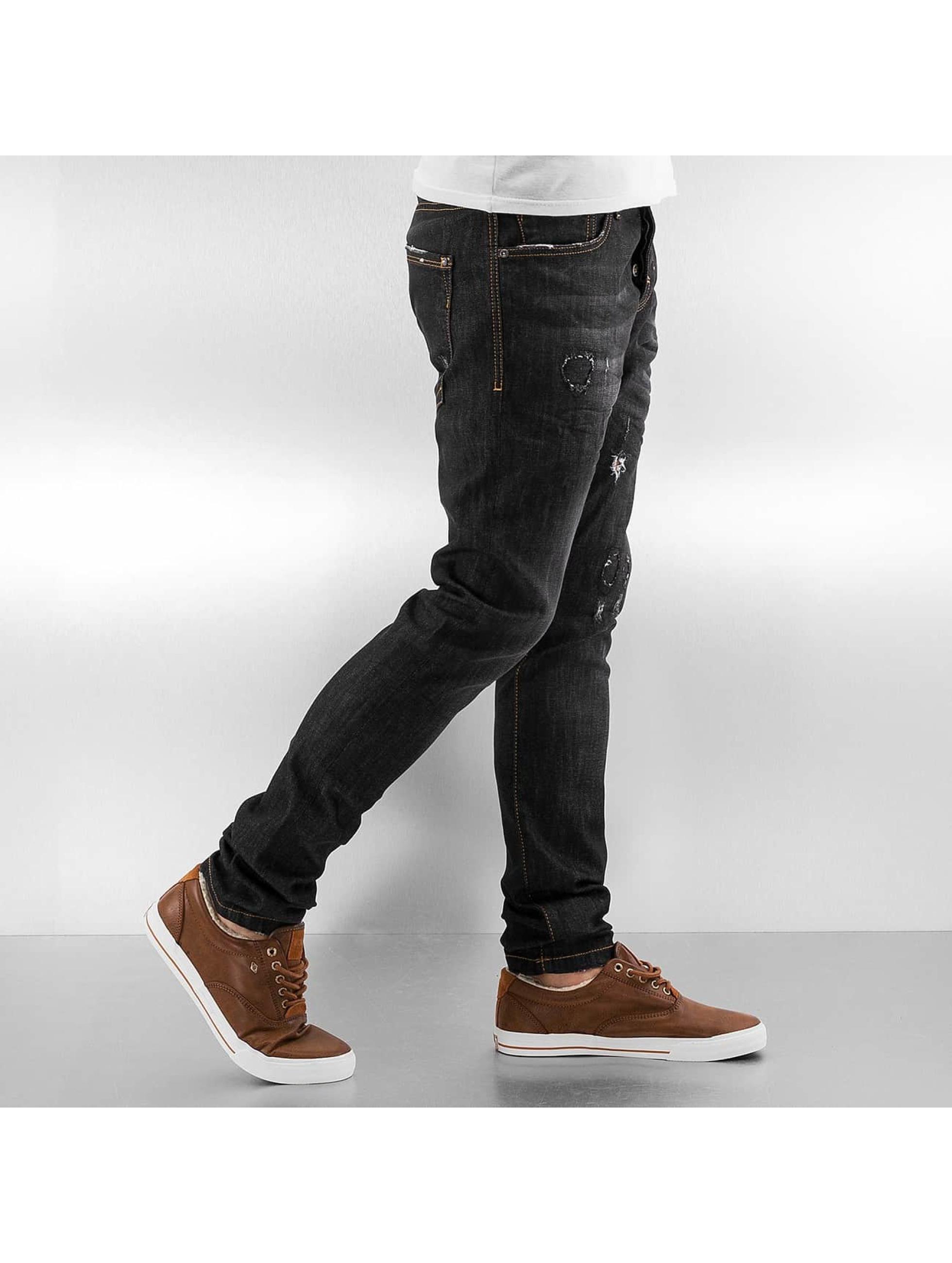 Pascucci Straight Fit Jeans Flora black