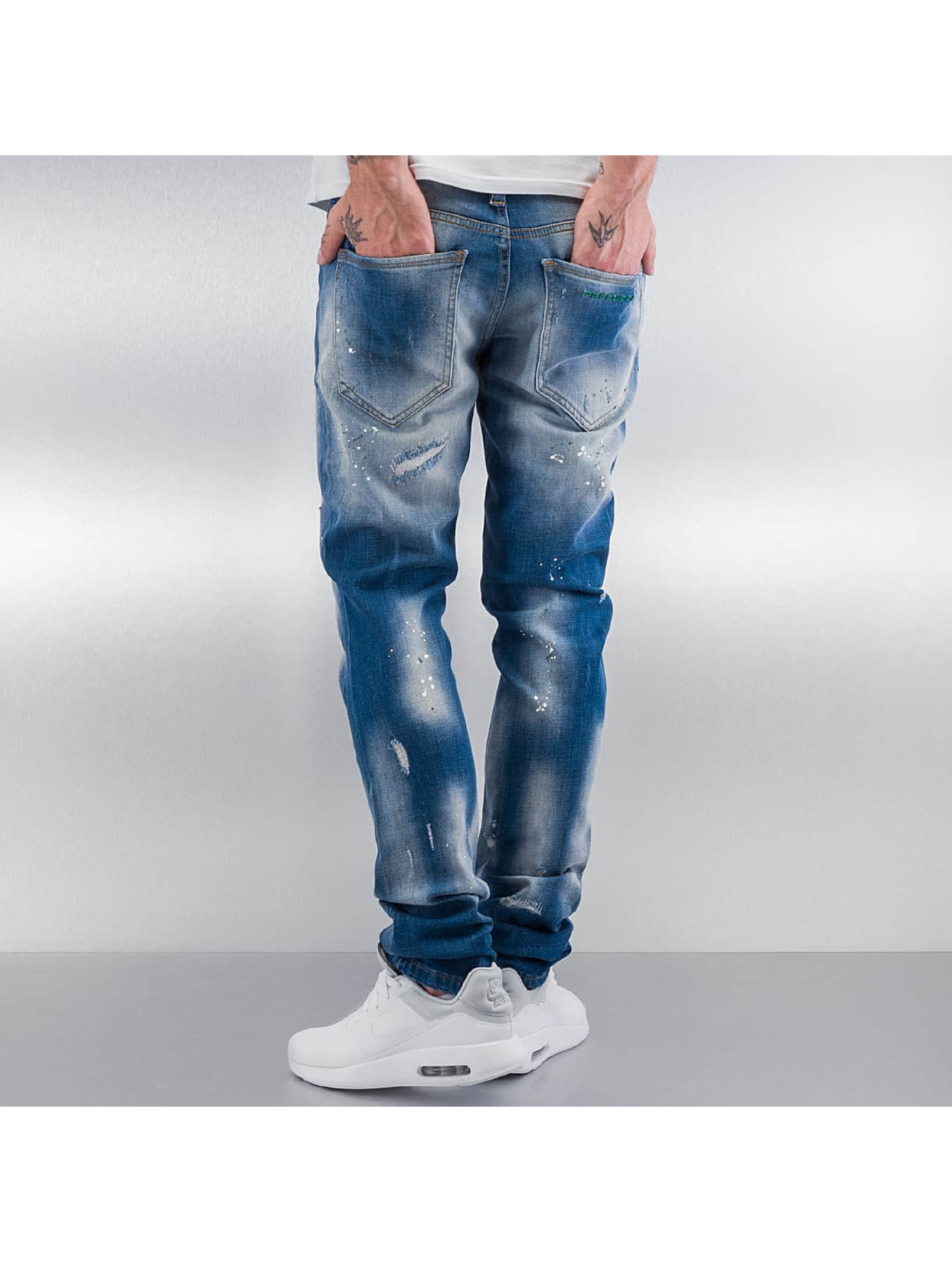 Pascucci Straight Fit Jeans Ymsi blau