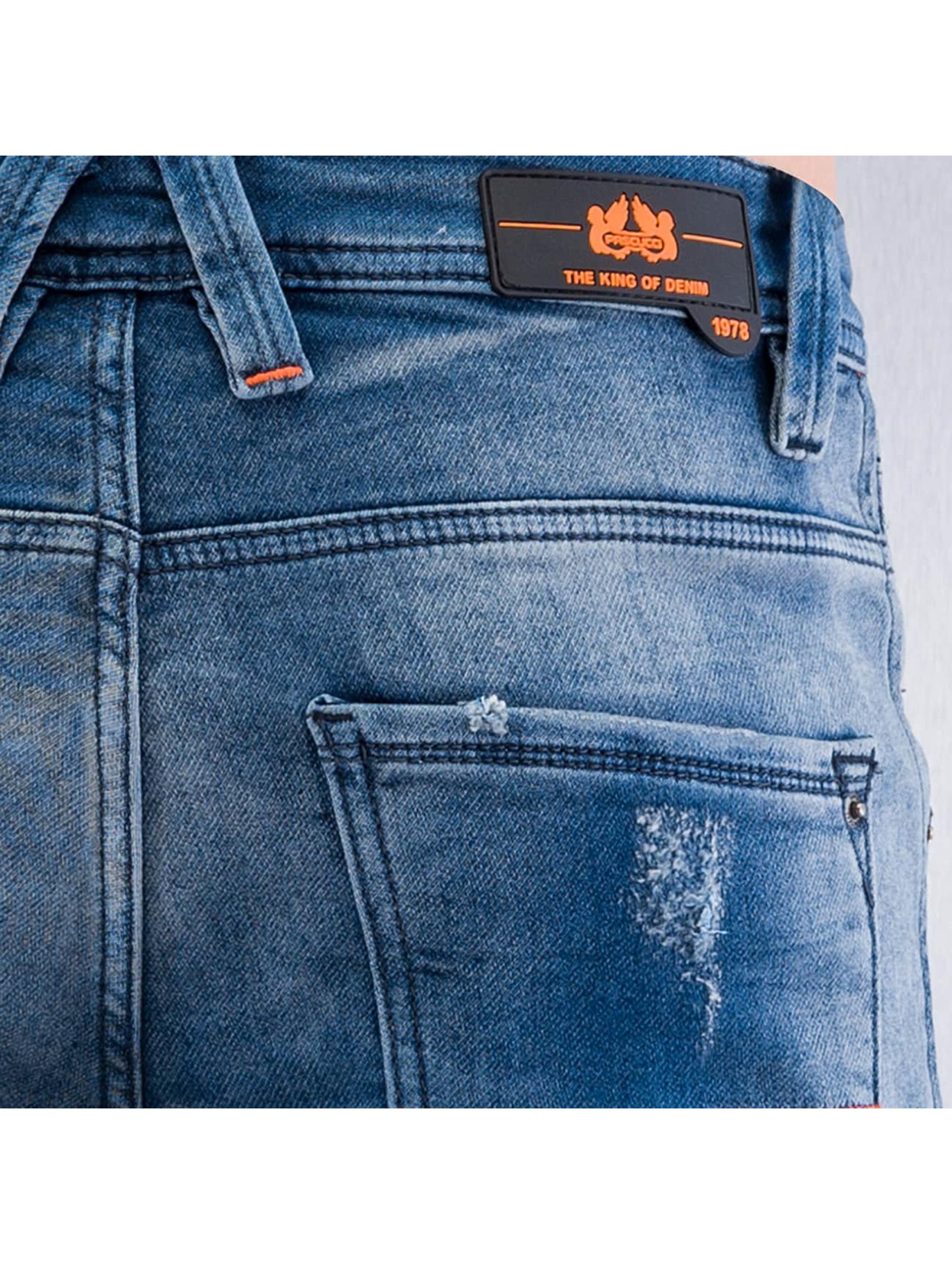 Pascucci Straight Fit Jeans Ungi blau