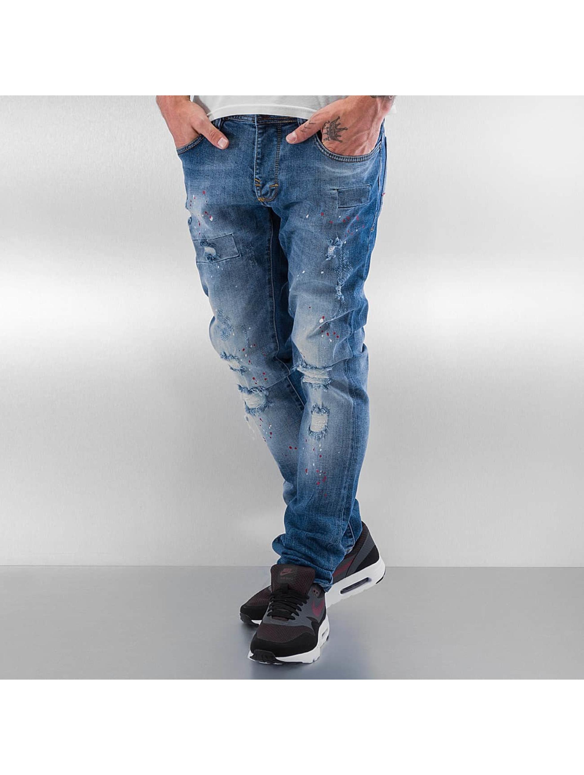 Pascucci Straight Fit Jeans Ori blau