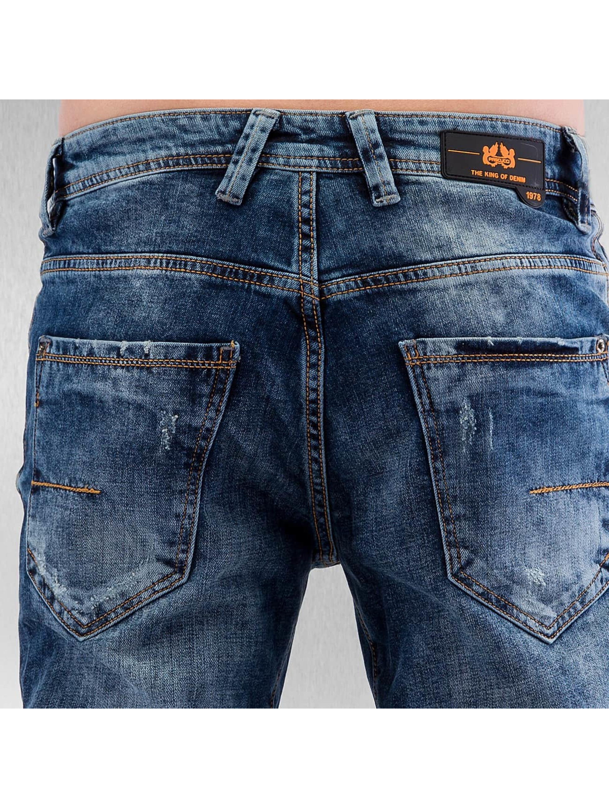 Pascucci Straight Fit Jeans Gereon blau