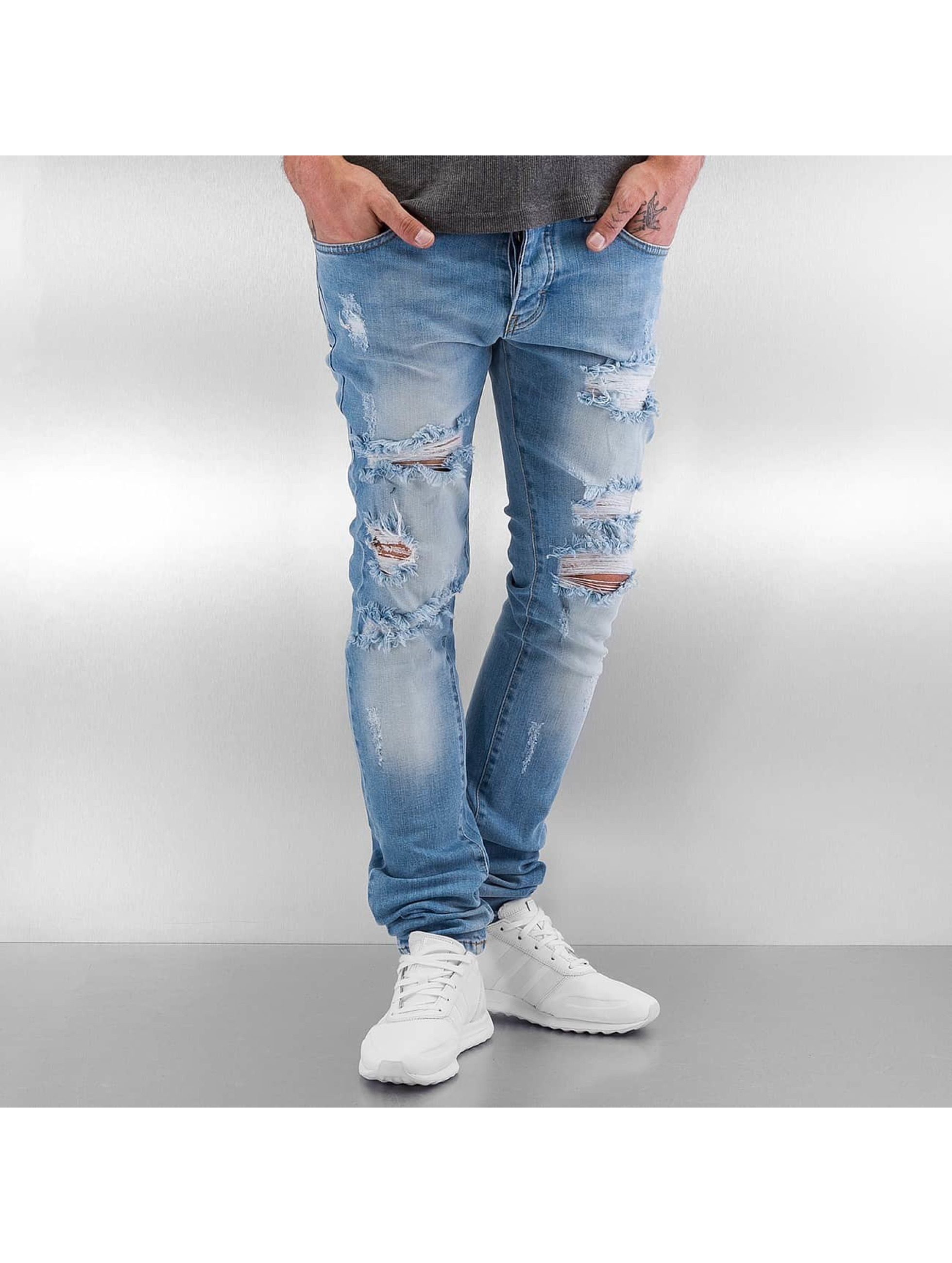 Straight Fit Jeans Rybak in blau
